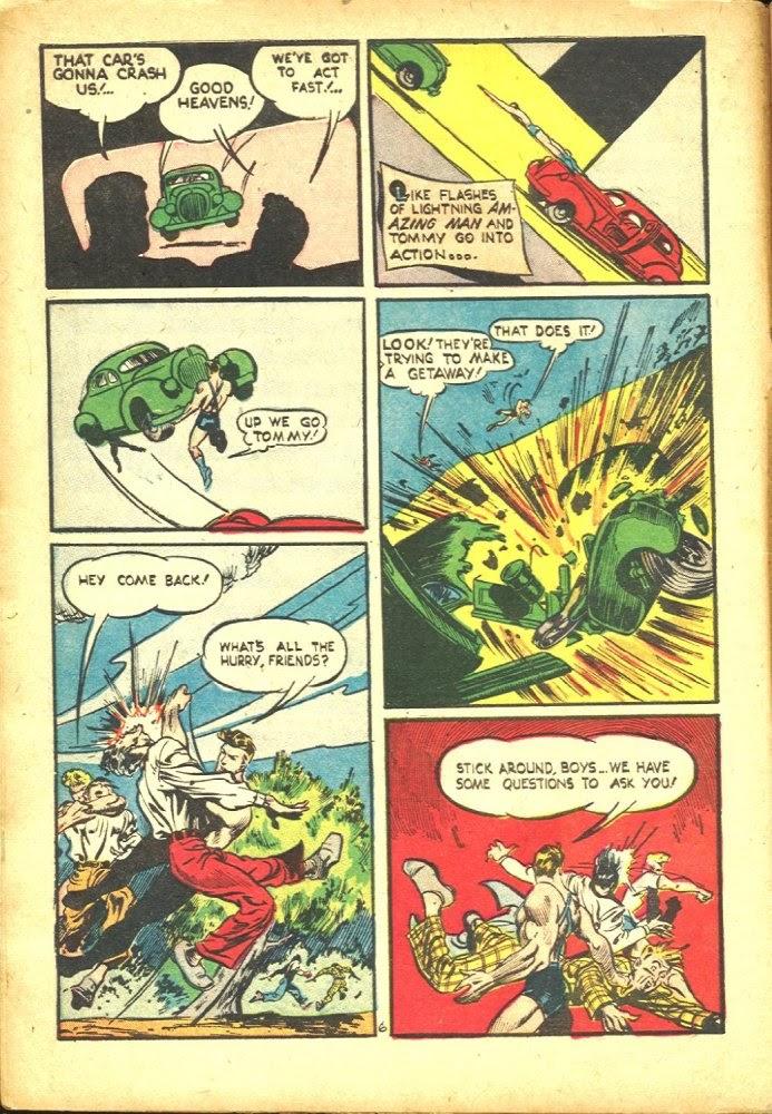 Read online Amazing Man Comics comic -  Issue #25 - 8