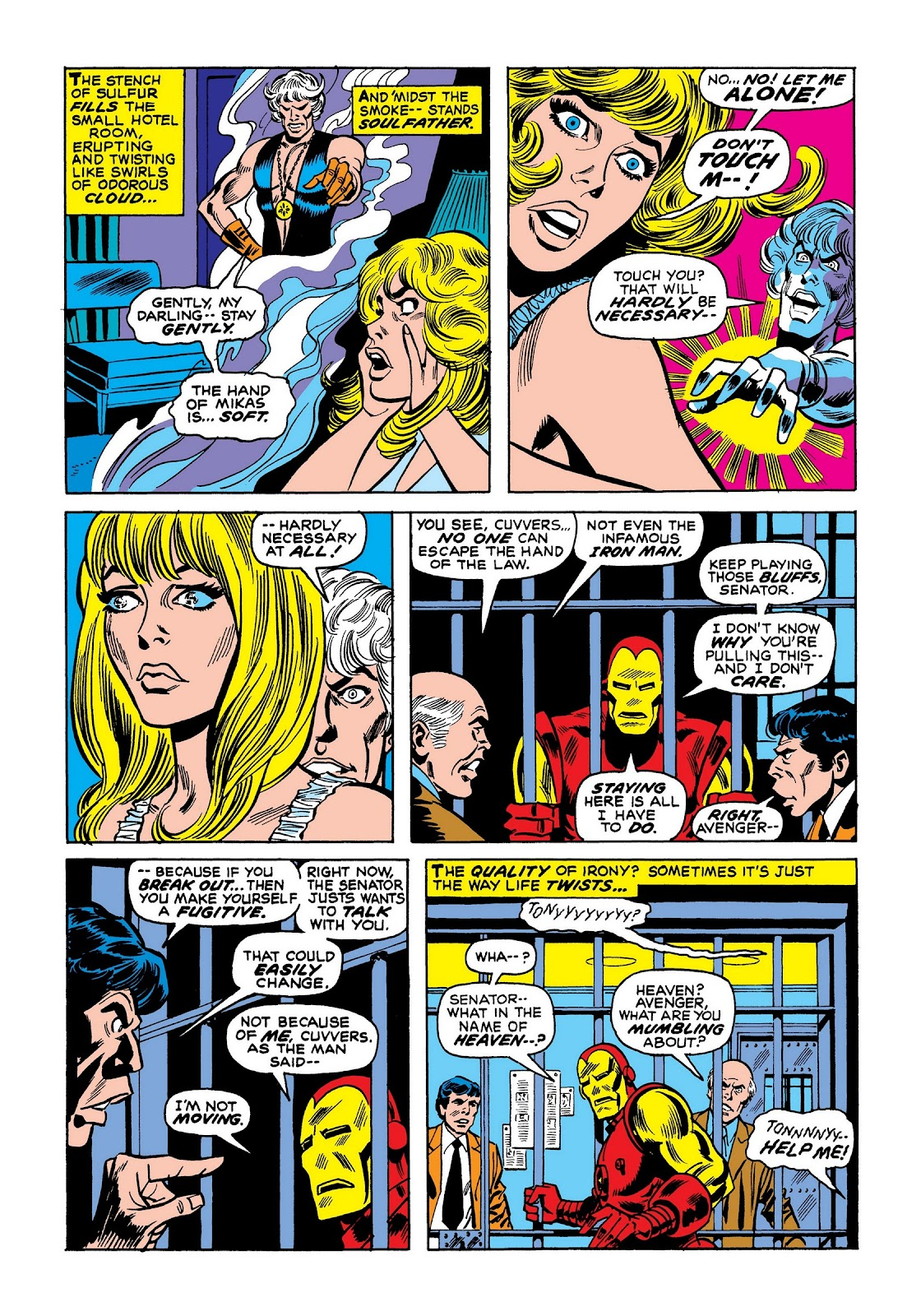 Read online Marvel Masterworks: The Invincible Iron Man comic -  Issue # TPB 8 (Part 1) - 78