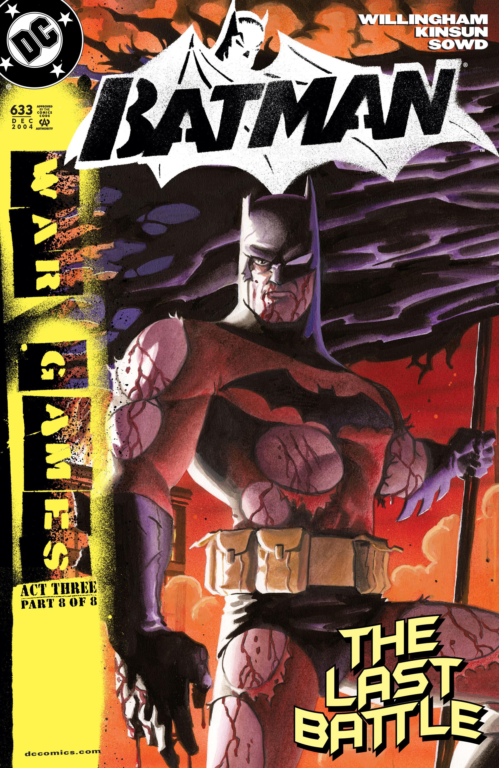 Batman (1940) 633 Page 1