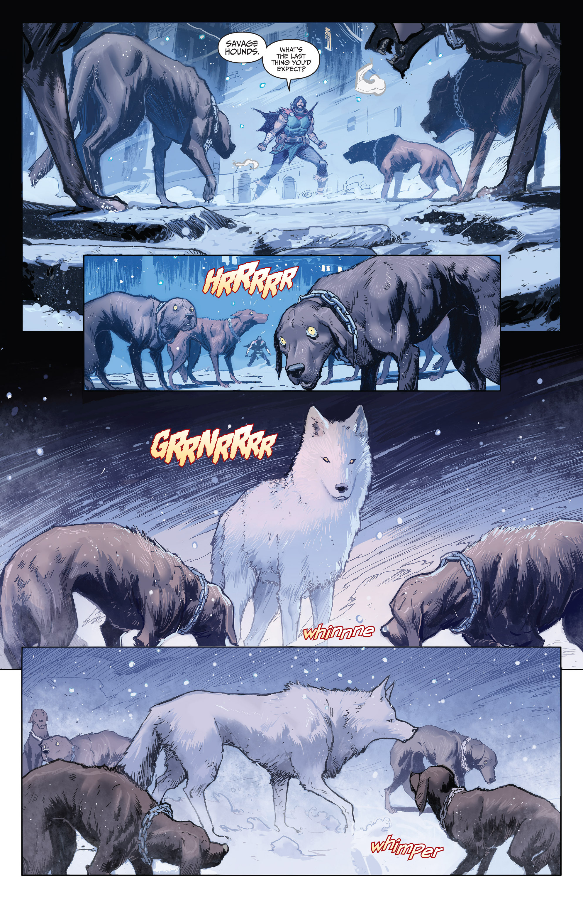 Read online Klaus comic -  Issue #3 - 4