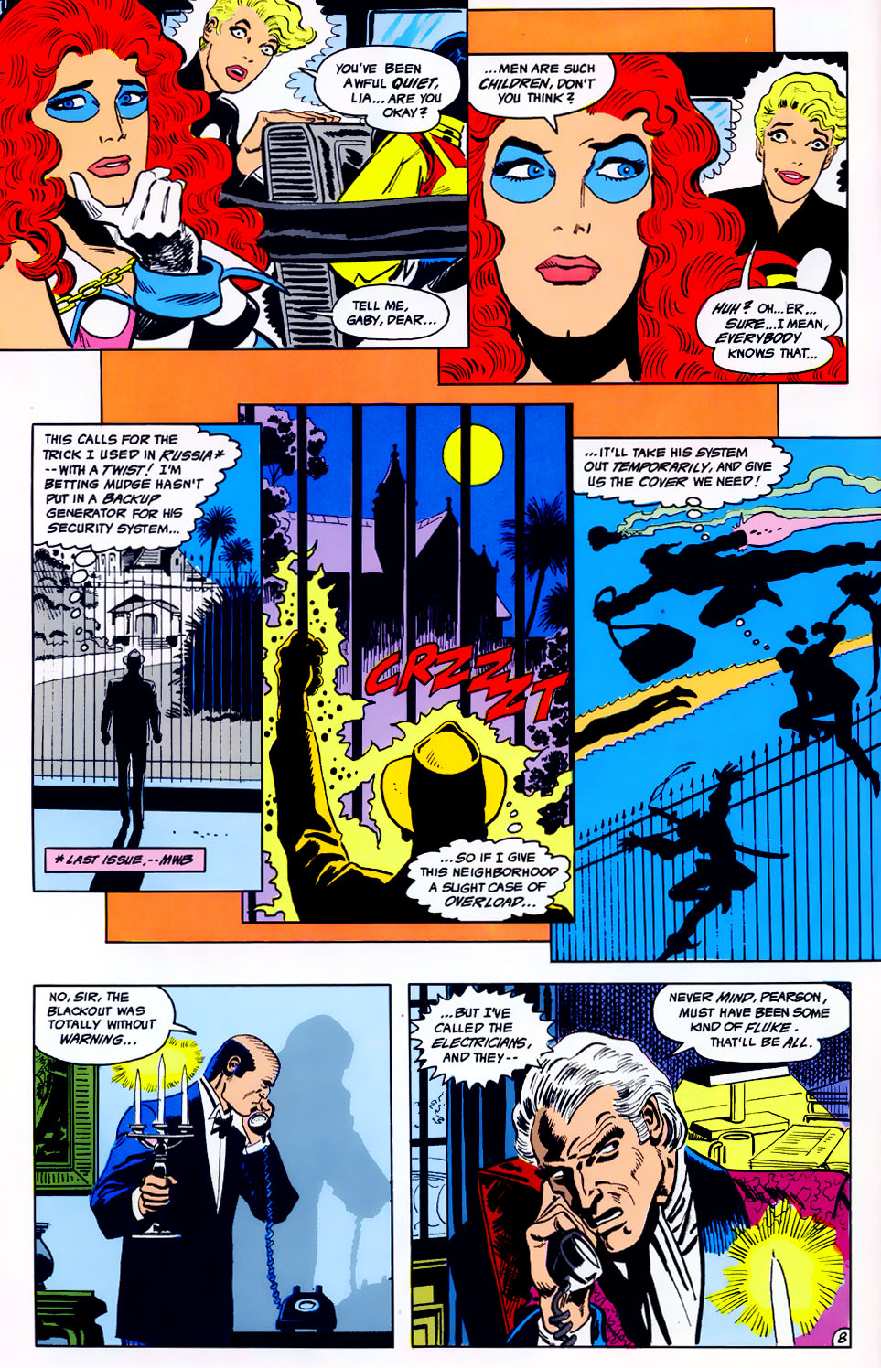 Read online Adventures of the Outsiders comic -  Issue #43 - 9
