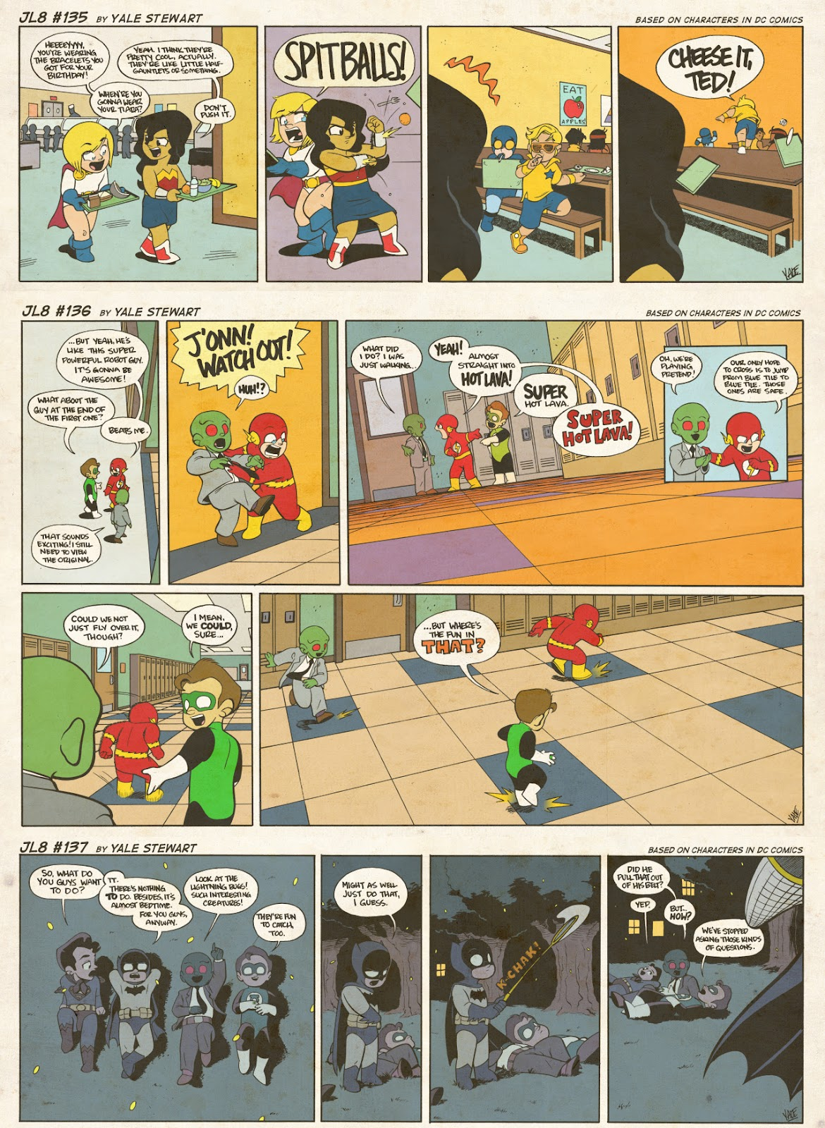 Read online JL8 – The Complete Collection comic -  Issue # TPB (Part 1) - 75