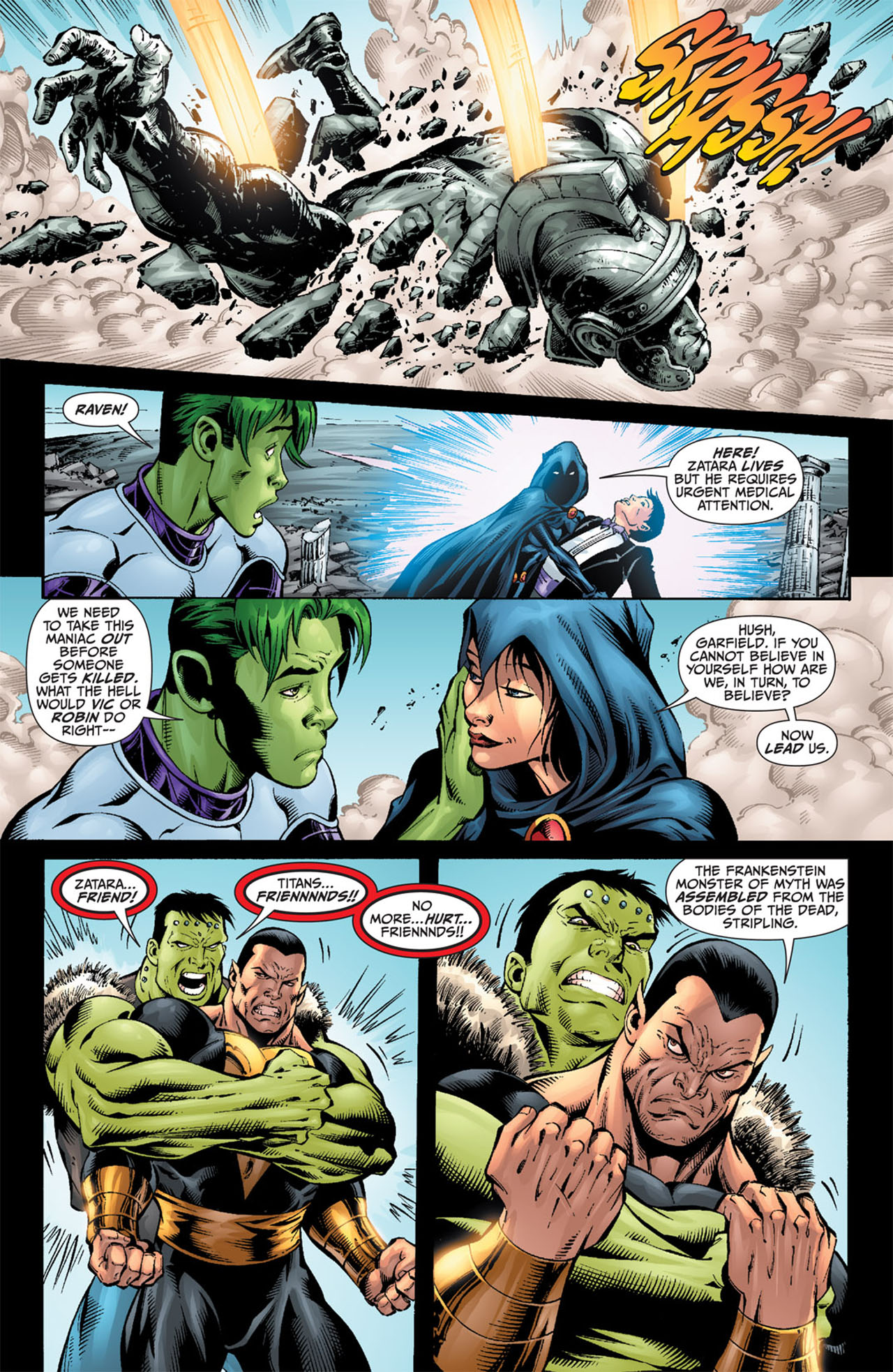 Read online World War III comic -  Issue #3 - 9