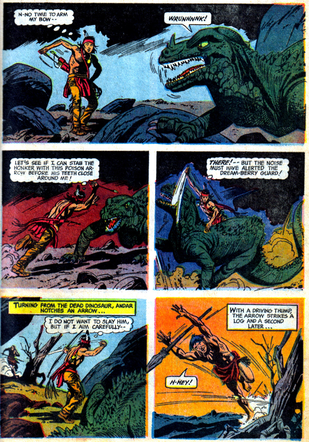 Read online Turok, Son of Stone comic -  Issue #62 - 9