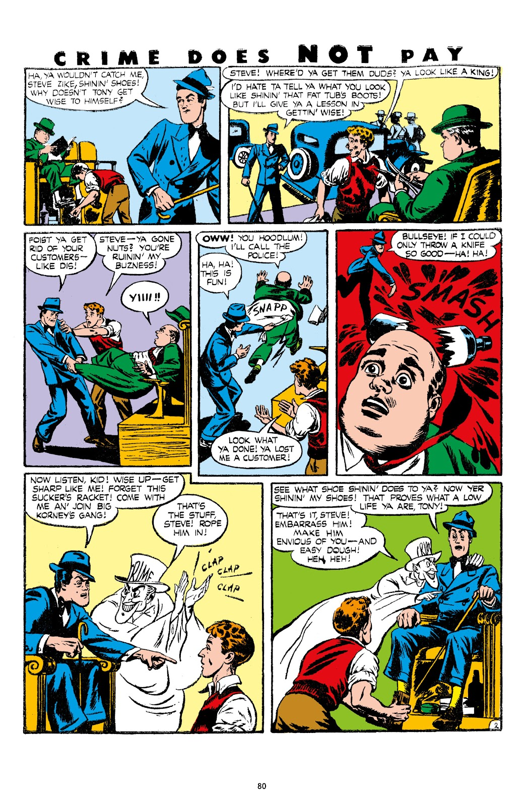 Read online Crime Does Not Pay Archives comic -  Issue # TPB 7 (Part 1) - 82