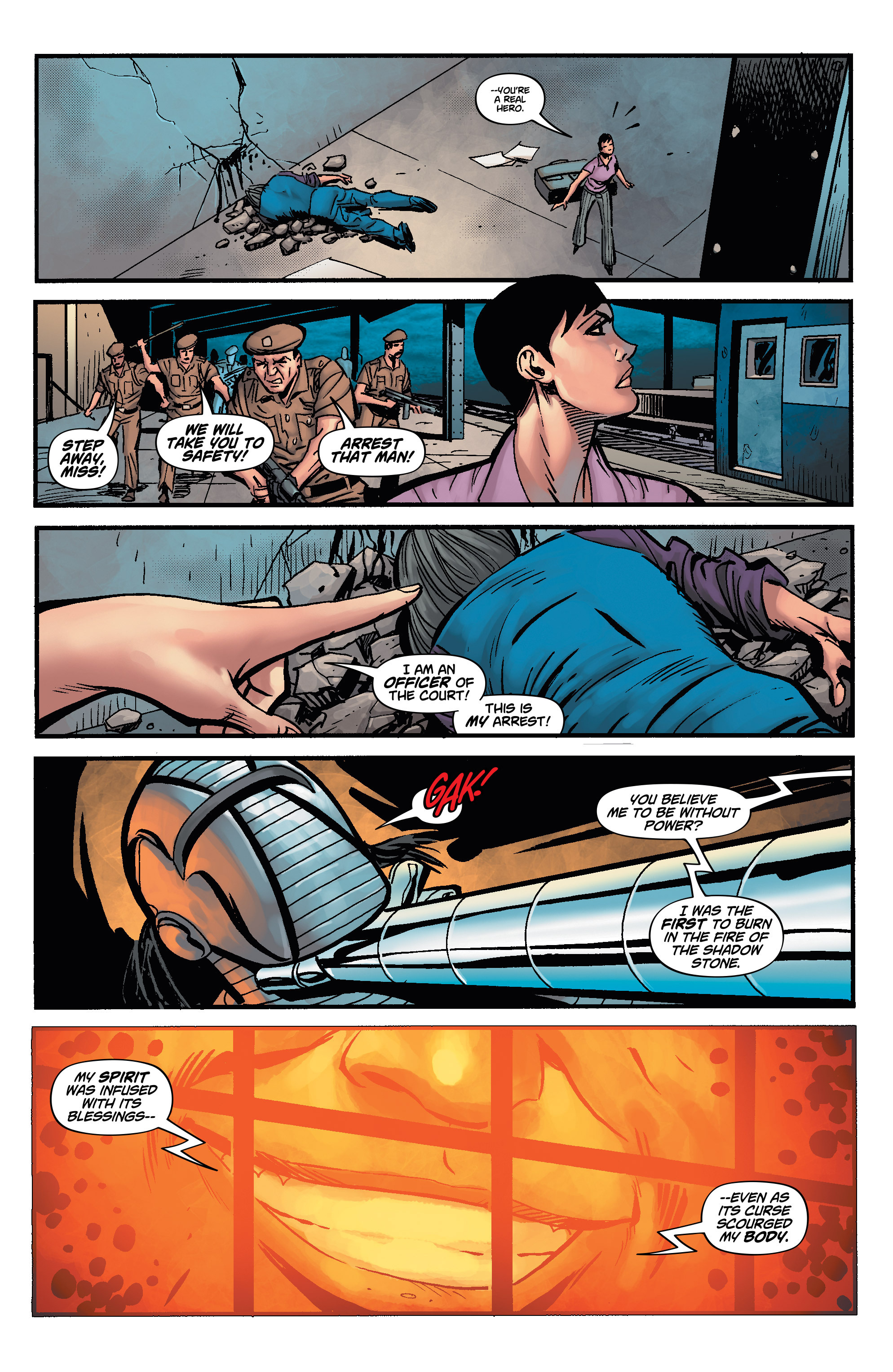 Read online Shadow Tiger comic -  Issue #4 - 13
