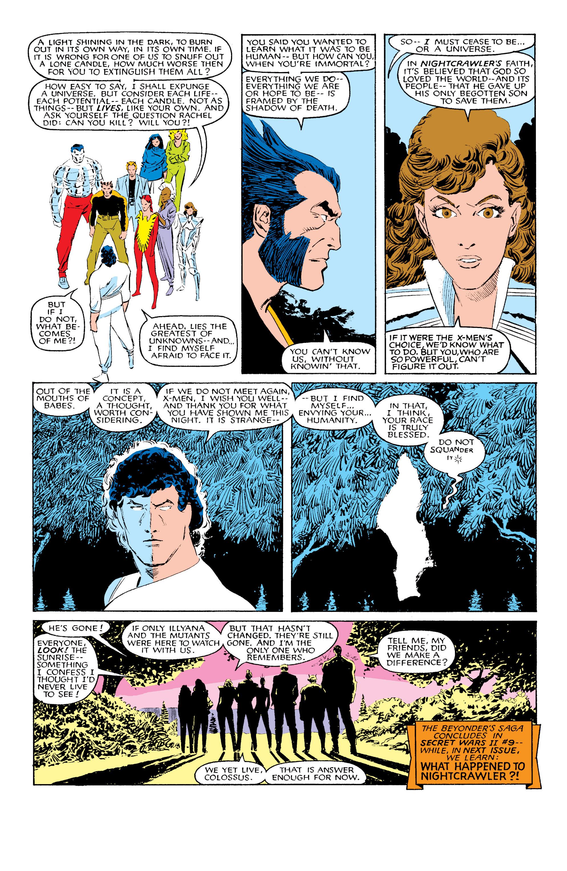 Read online Uncanny X-Men (1963) comic -  Issue #203 - 23