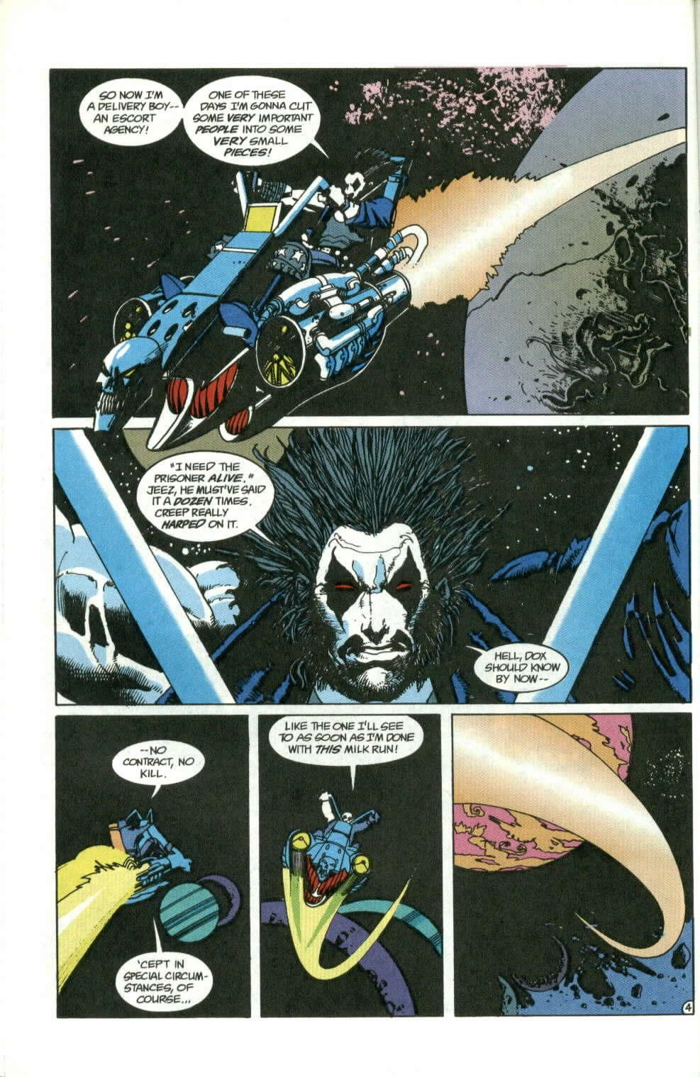 Read online Lobo (1990) comic -  Issue #1 - 5