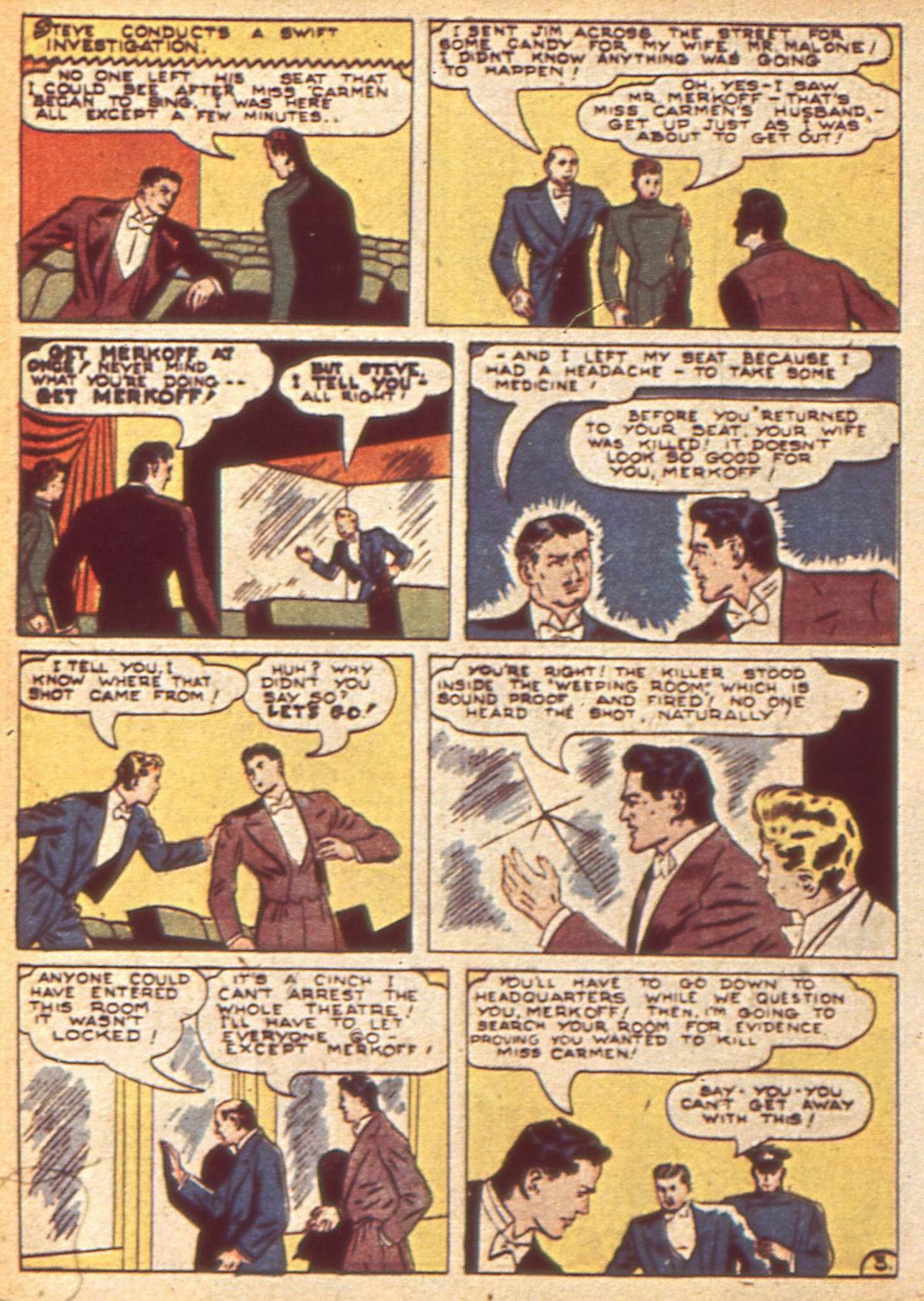 Read online Detective Comics (1937) comic -  Issue #49 - 54