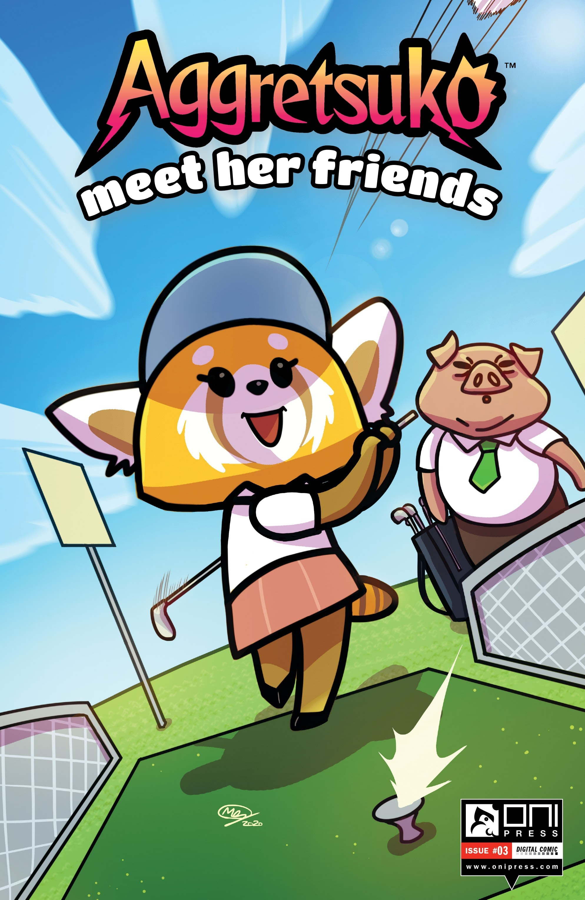 Aggretsuko Meet Her Friends issue 3 - Page 1