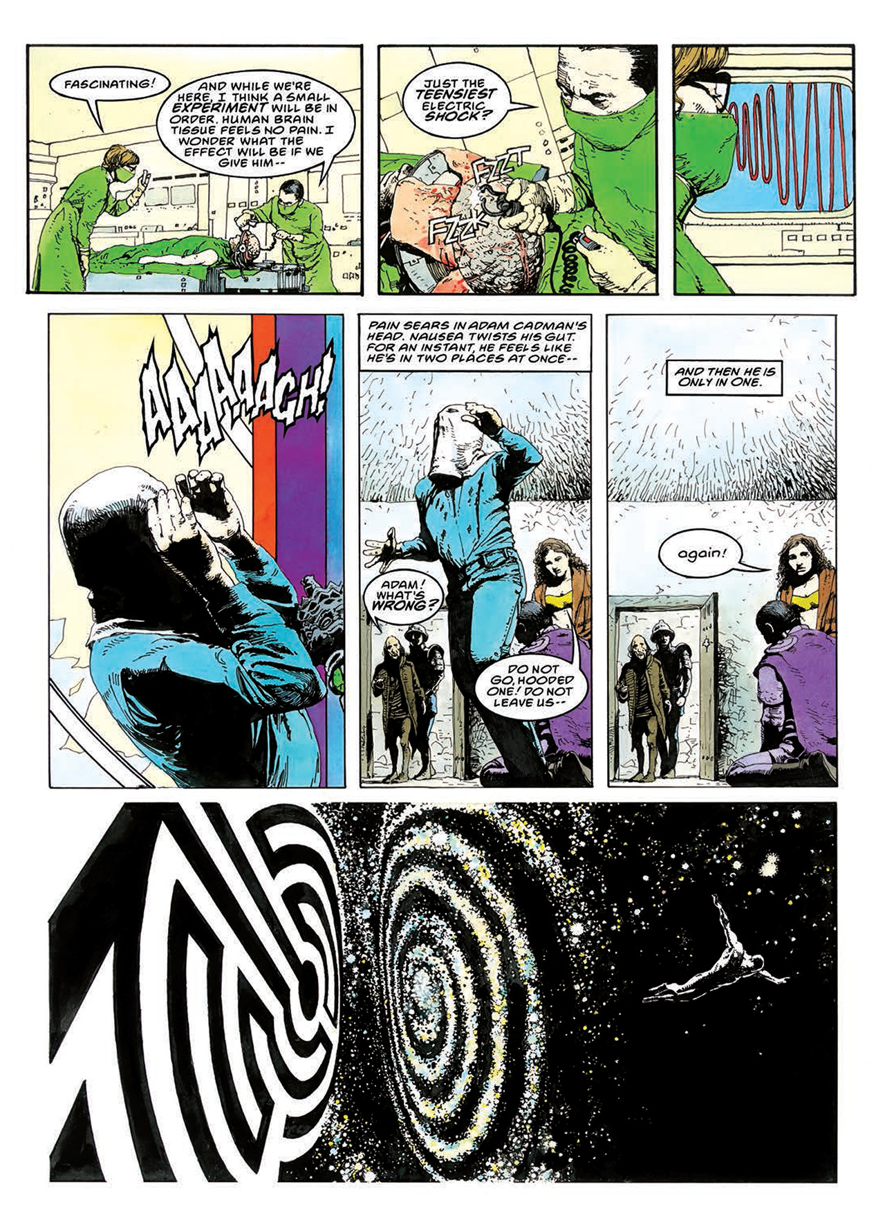 Read online Mazeworld comic -  Issue # TPB - 123