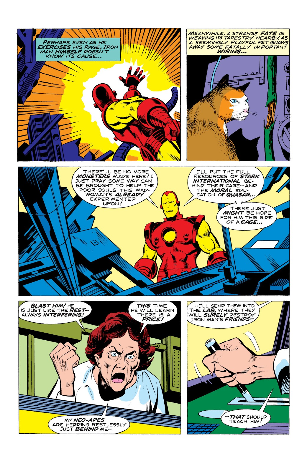 Read online Marvel Masterworks: The Invincible Iron Man comic -  Issue # TPB 10 (Part 3) - 11