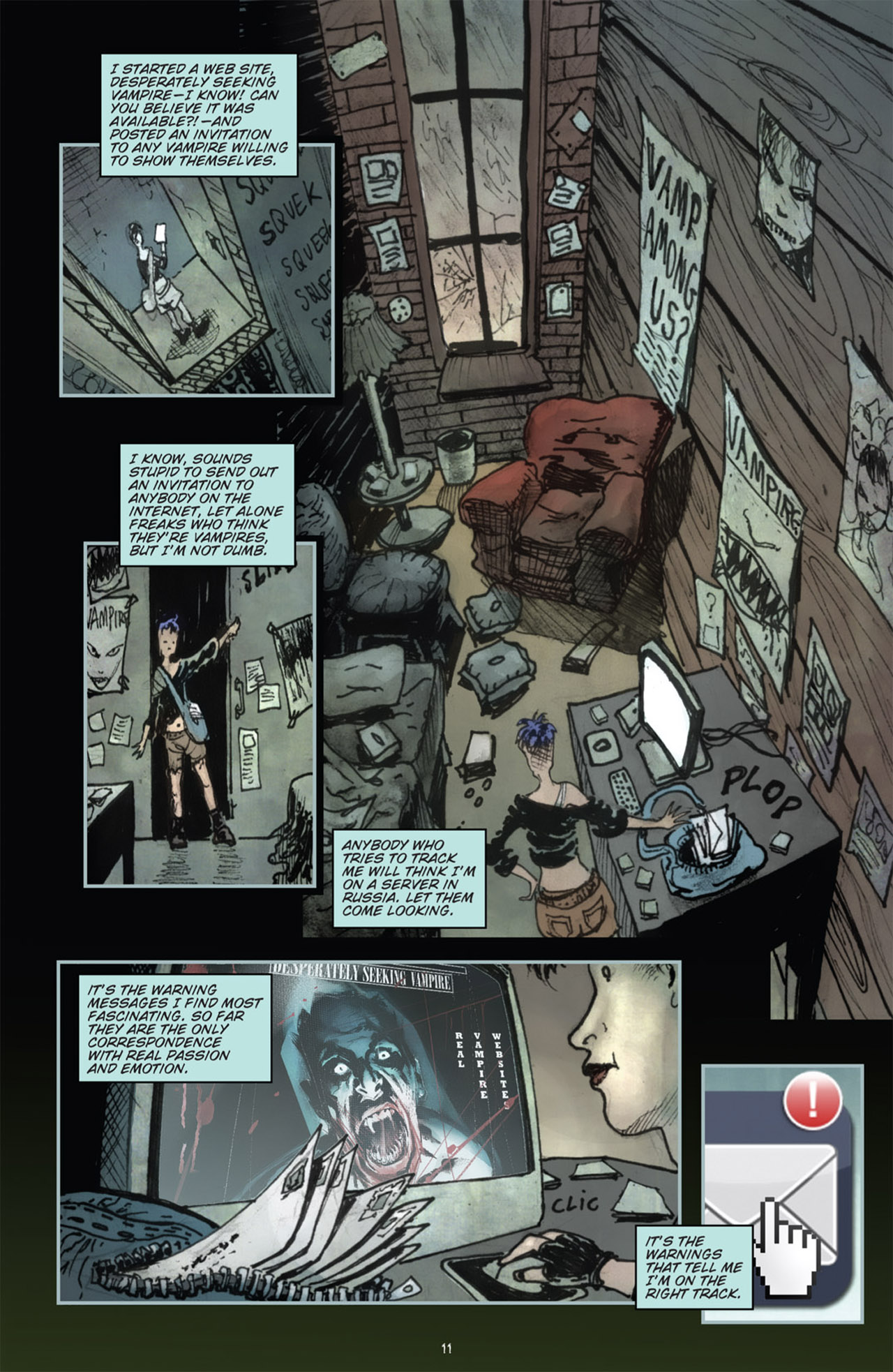 Read online 30 Days of Night (2011) comic -  Issue #1 - 15