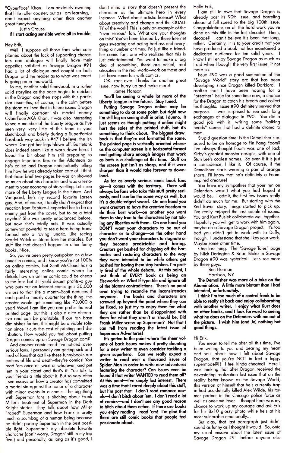 The Savage Dragon (1993) Issue #93 #96 - English 25