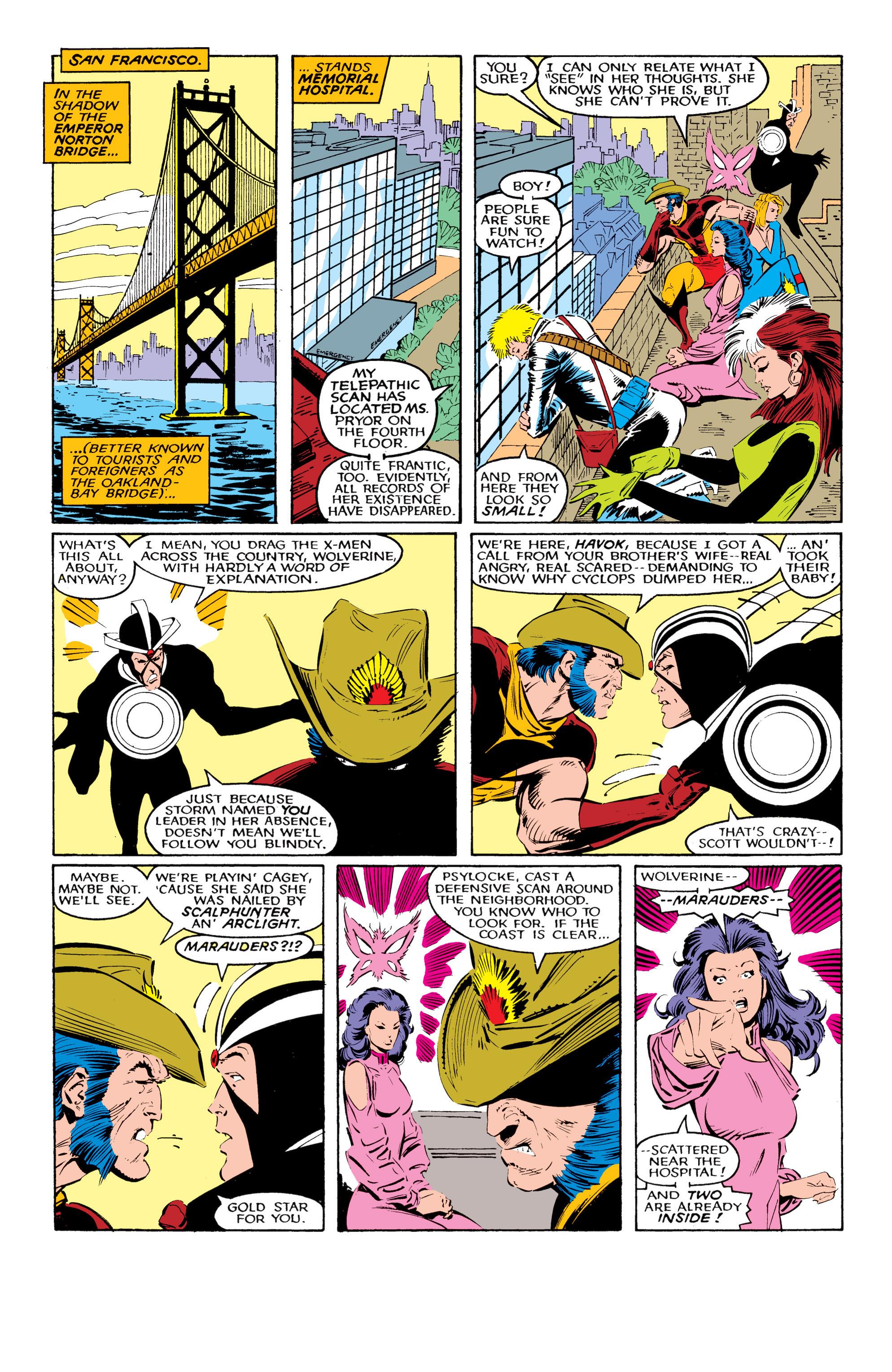 Read online Uncanny X-Men (1963) comic -  Issue #221 - 11