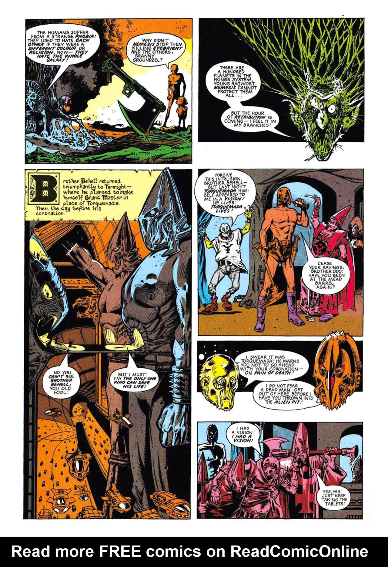 Read online Nemesis The Warlock comic -  Issue # TPB Deviant Edition - 24