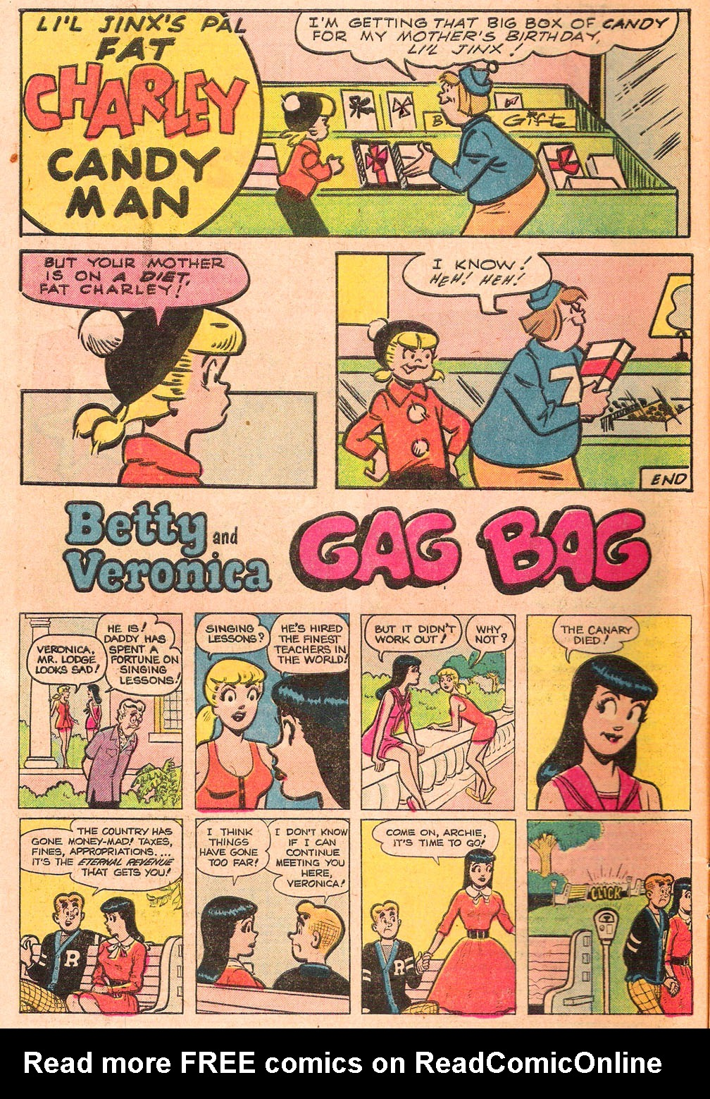 Read online Archie's Girls Betty and Veronica comic -  Issue #271 - 10