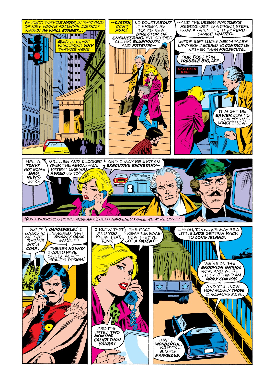 Read online Marvel Masterworks: The Invincible Iron Man comic -  Issue # TPB 11 (Part 3) - 33
