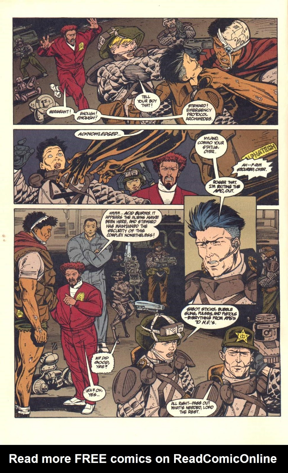 Read online Aliens: Colonial Marines comic -  Issue #7 - 13