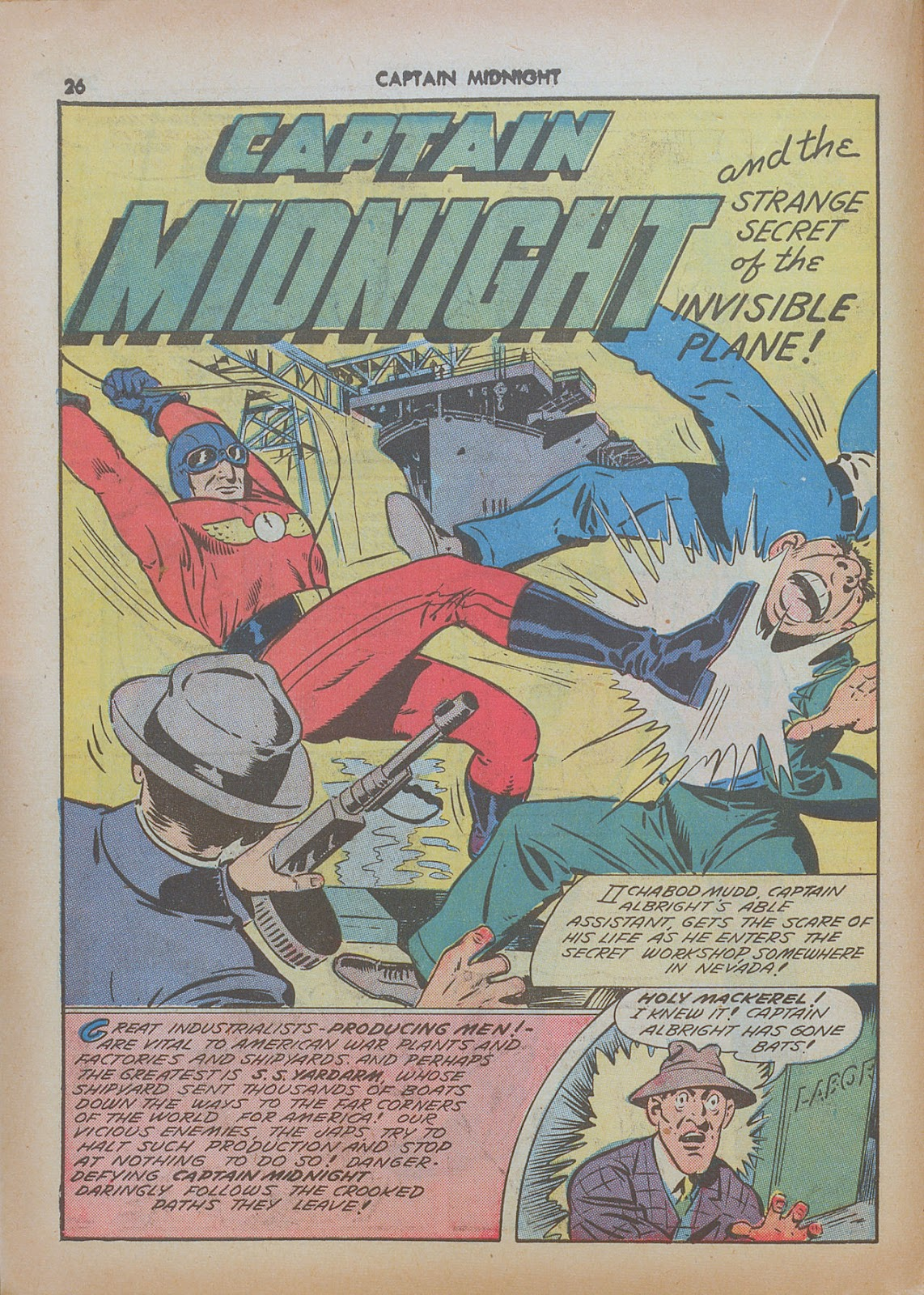 Captain Midnight (1942) issue 7 - Page 26