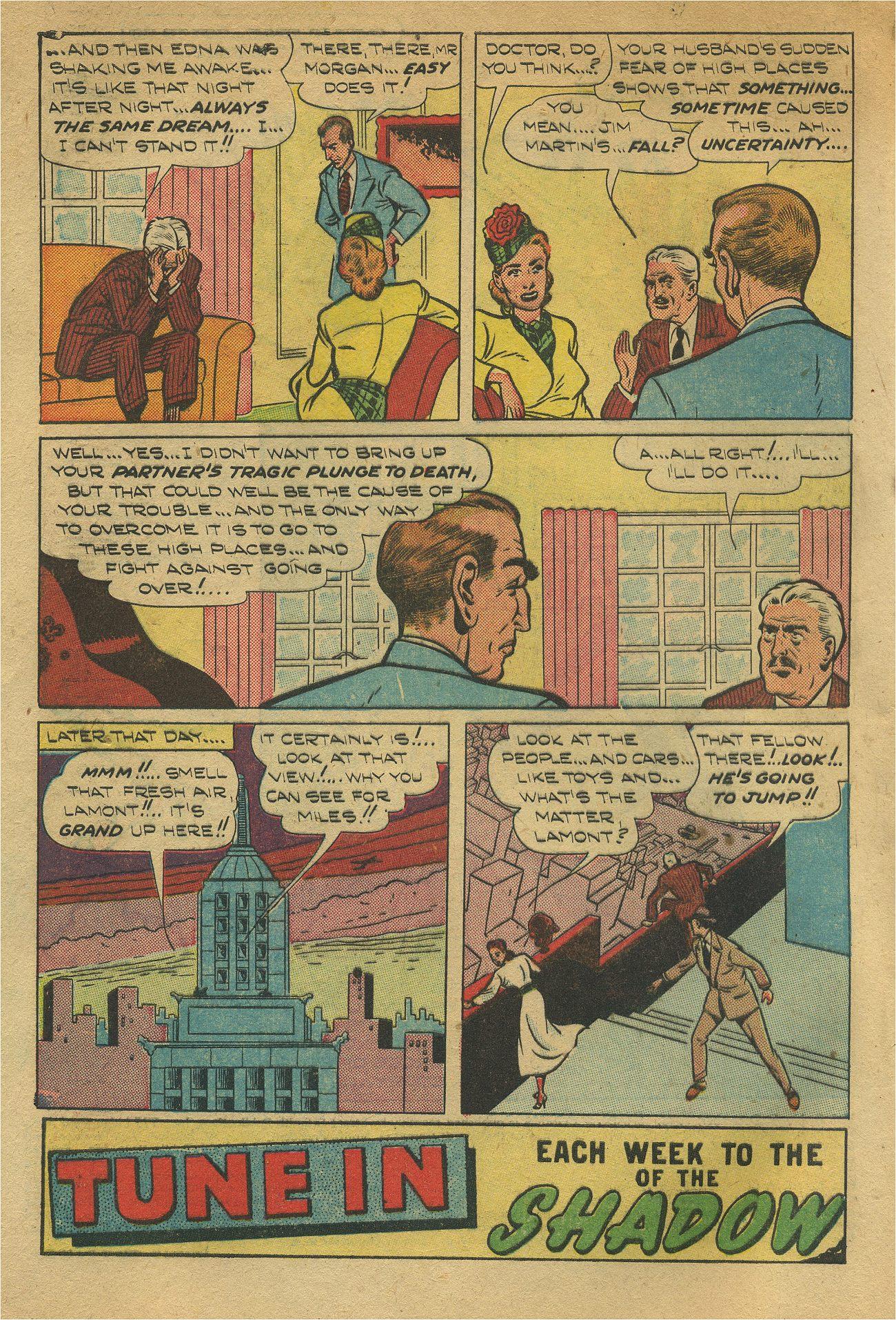 Read online Shadow Comics comic -  Issue #93 - 5