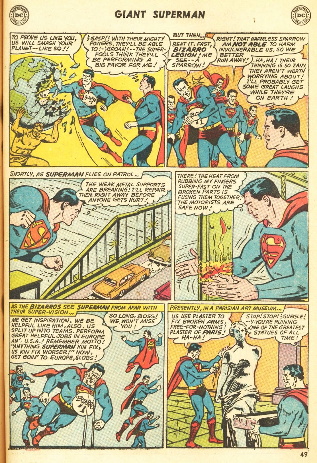 Comic Superman (1939) issue 216