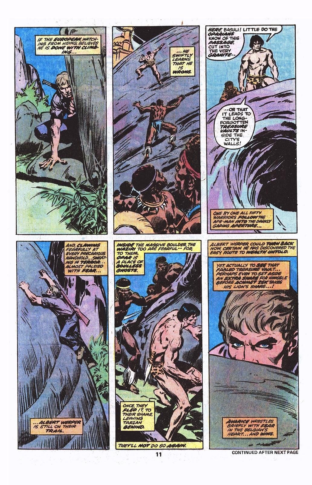 Tarzan (1977) issue 3 - Page 8