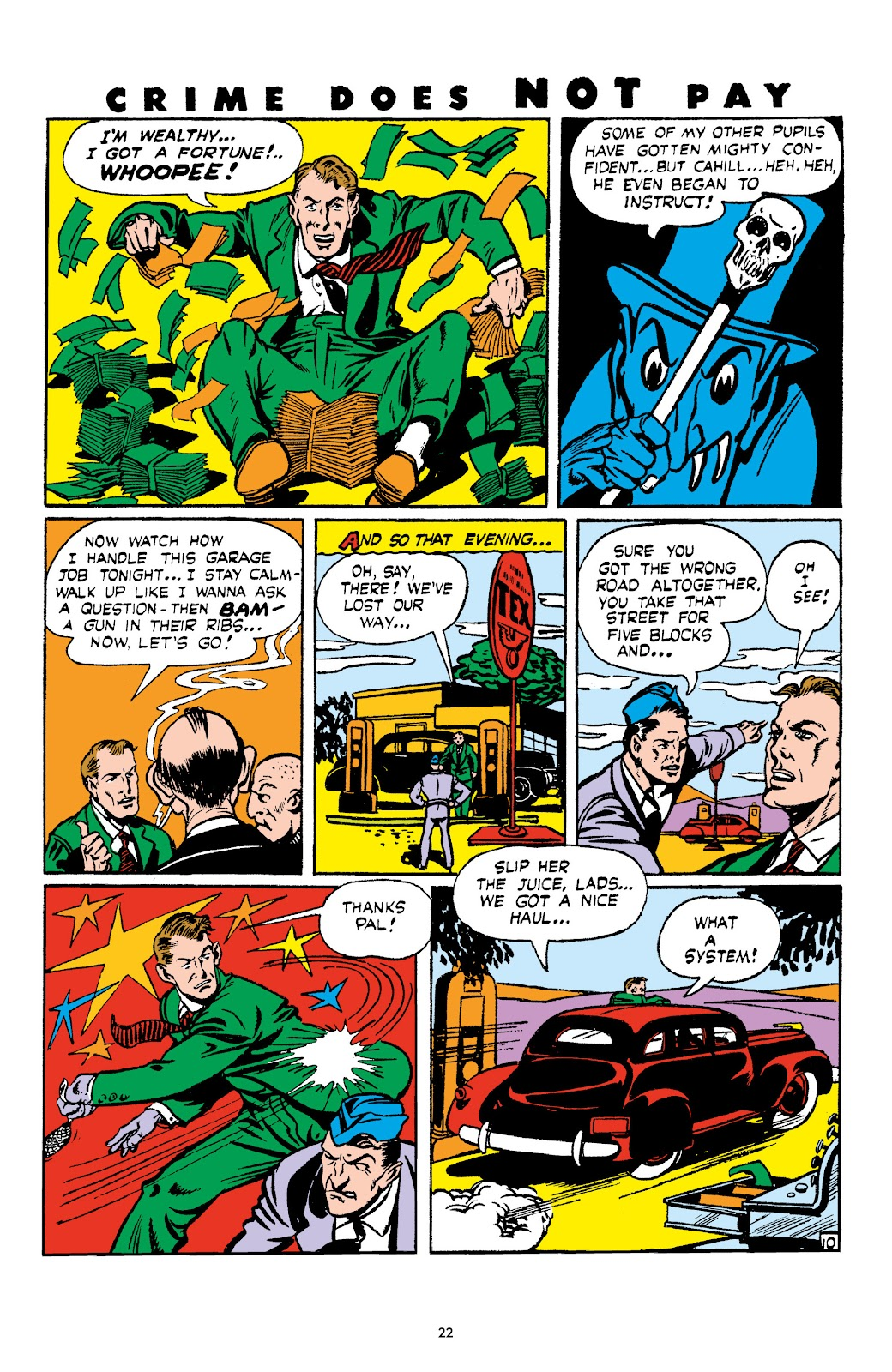 Read online Crime Does Not Pay Archives comic -  Issue # TPB 4 (Part 1) - 22
