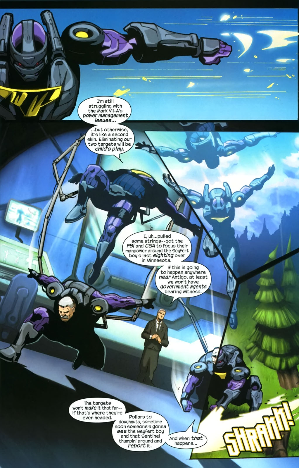 Read online Sentinel (2006) comic -  Issue #4 - 7