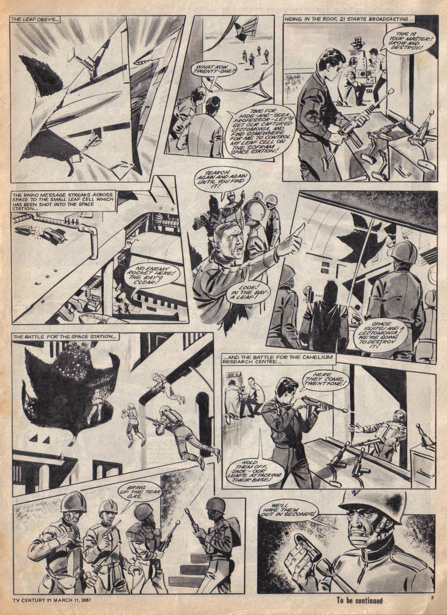 Read online TV Century 21 (TV 21) comic -  Issue #112 - 3
