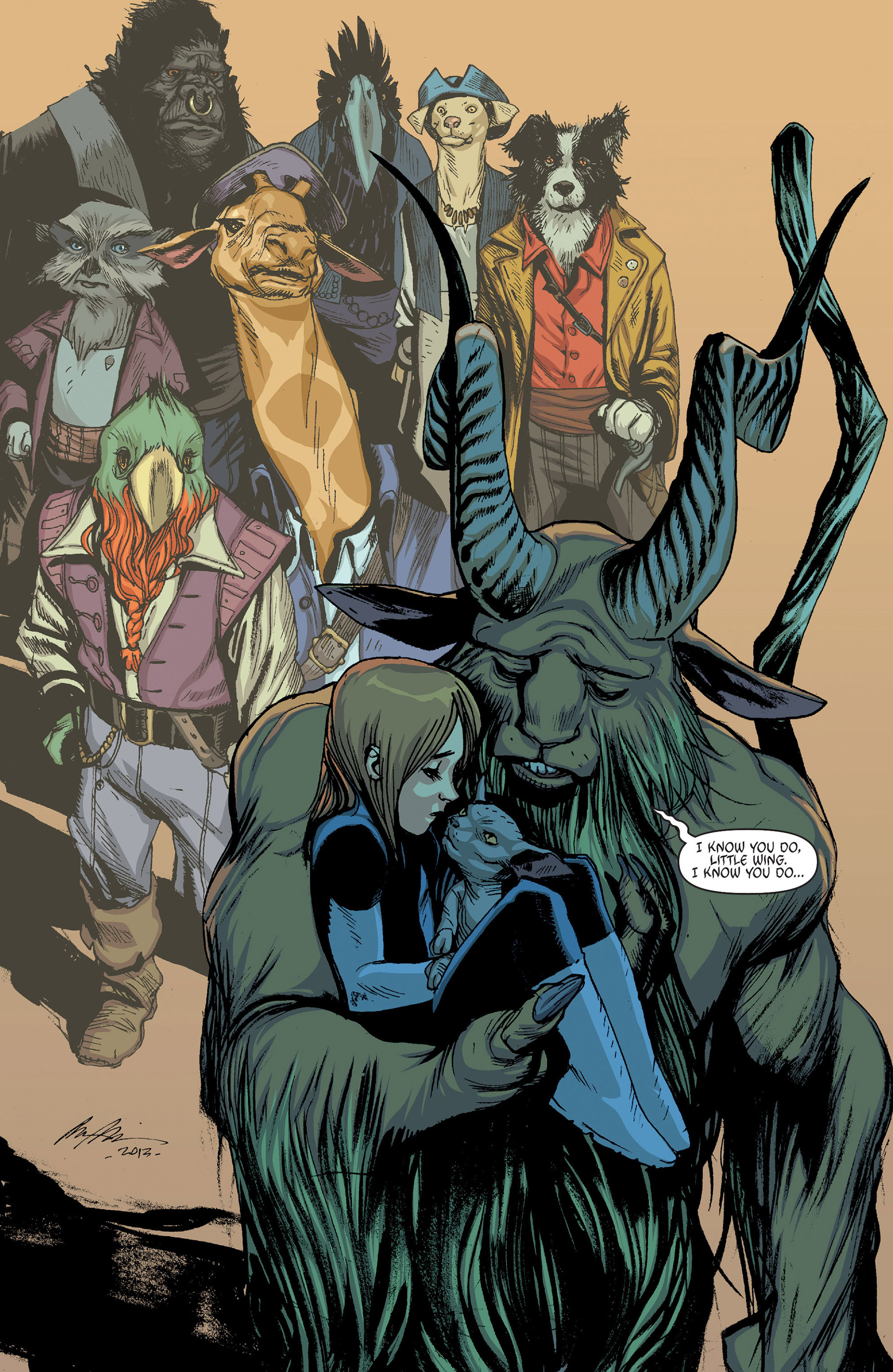 Read online Animal Man (2011) comic -  Issue #24 - 13