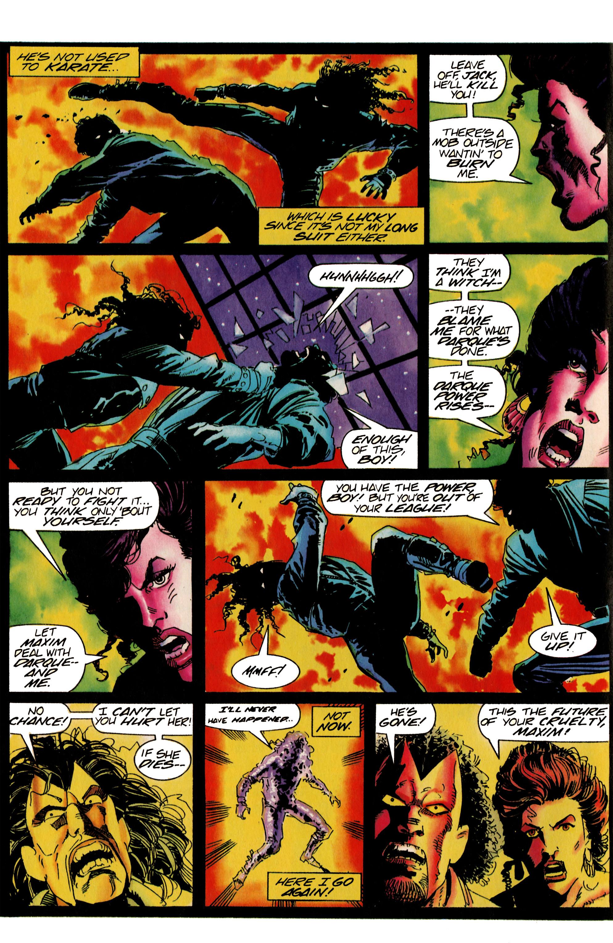 Read online Shadowman (1992) comic -  Issue #22 - 6