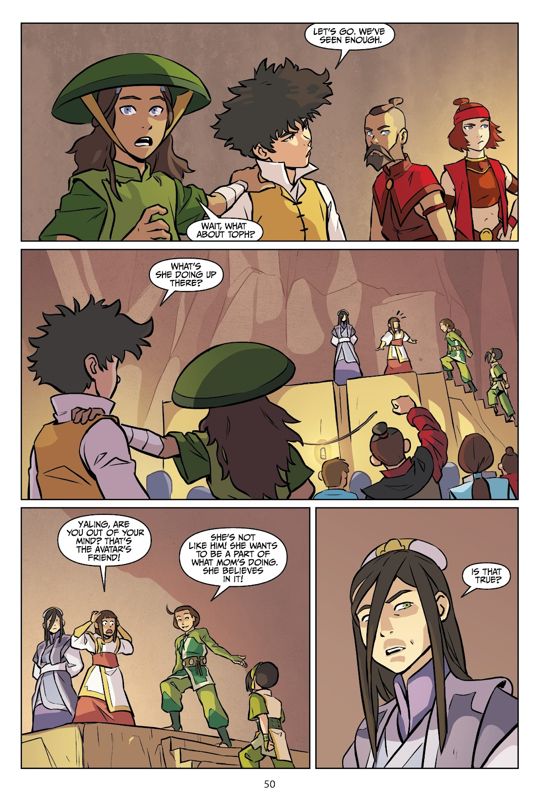Read online Nickelodeon Avatar: The Last Airbender - Imbalance comic -  Issue # TPB 2 - 51