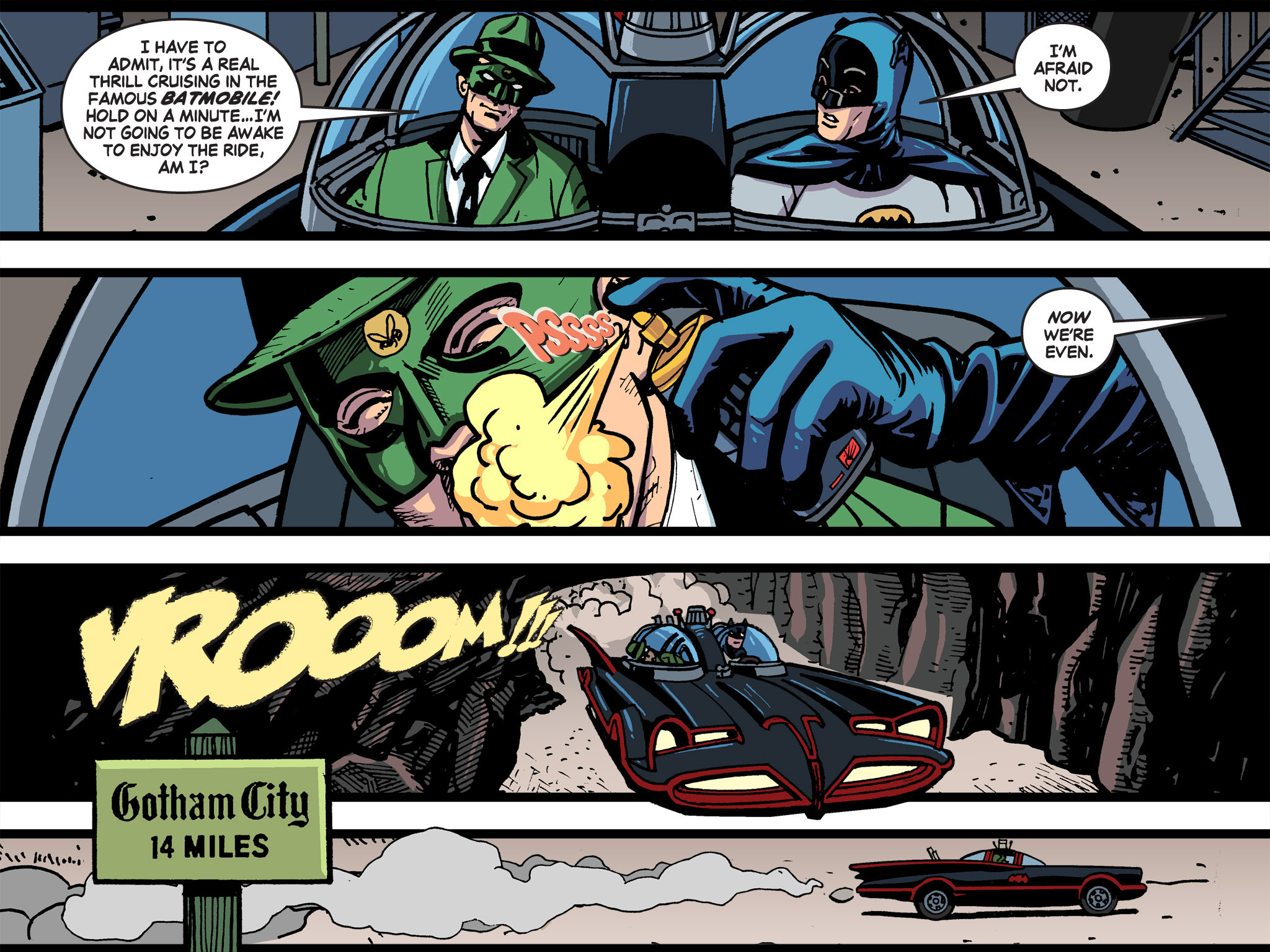 Read online Batman '66 Meets the Green Hornet [II] comic -  Issue #5 - 80