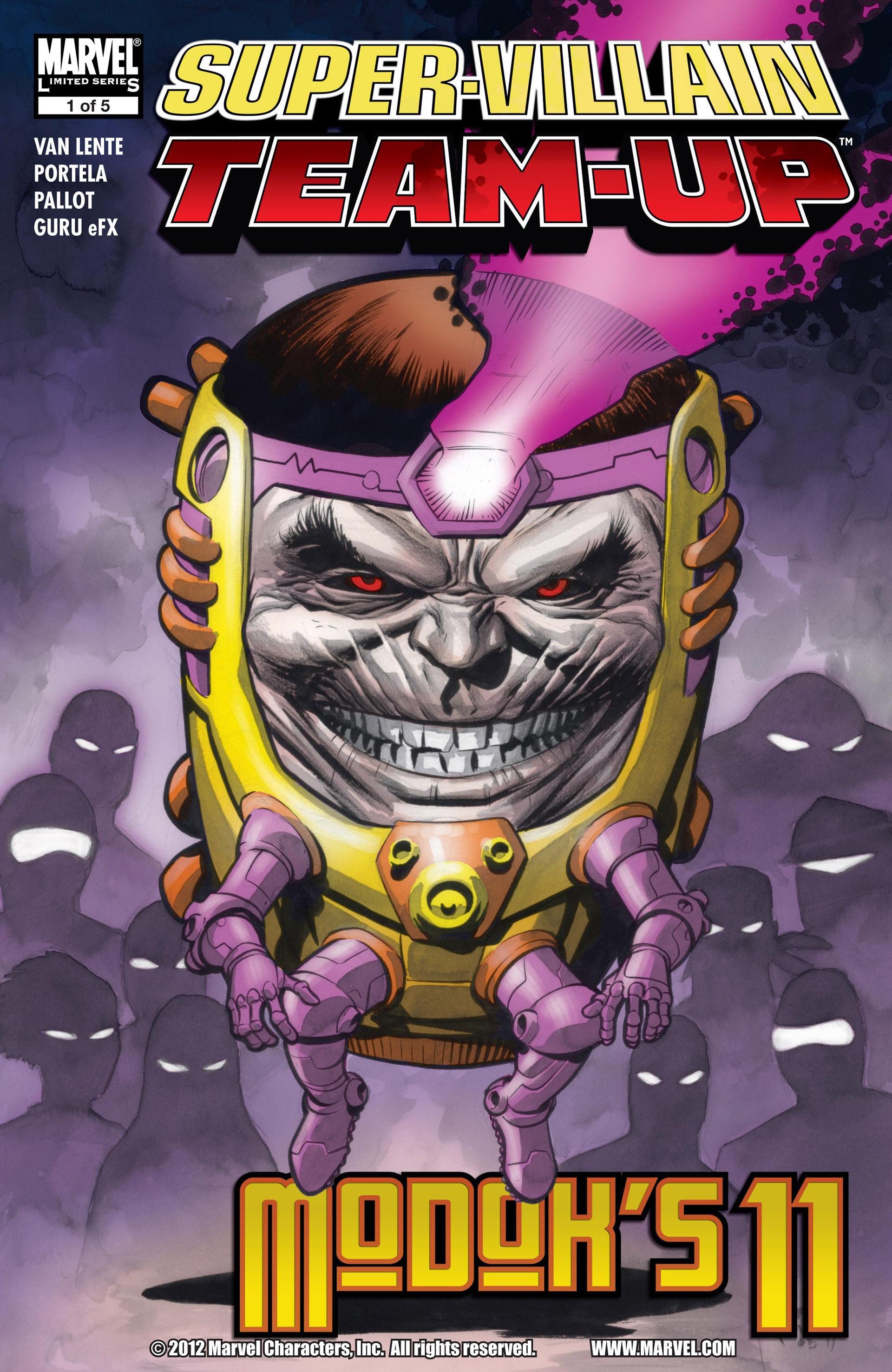 Read online Super-Villain Team-Up/MODOK's 11 comic -  Issue #1 - 1