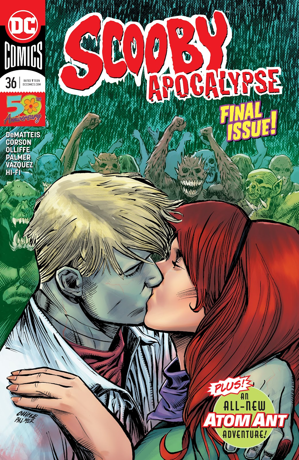 Read online Scooby Apocalypse comic -  Issue #36 - 1