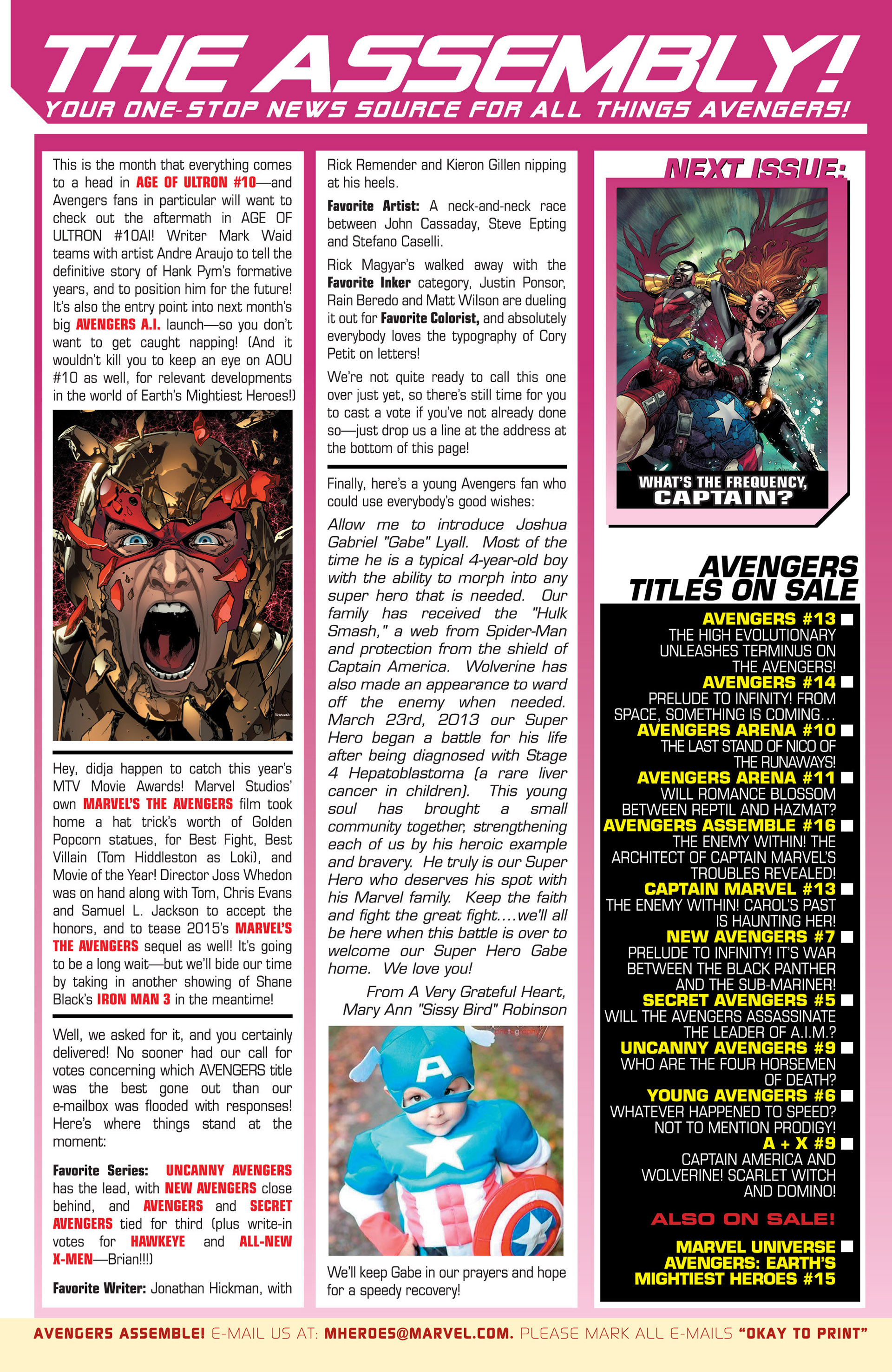 Read online Avengers (2013) comic -  Issue #14 - 25