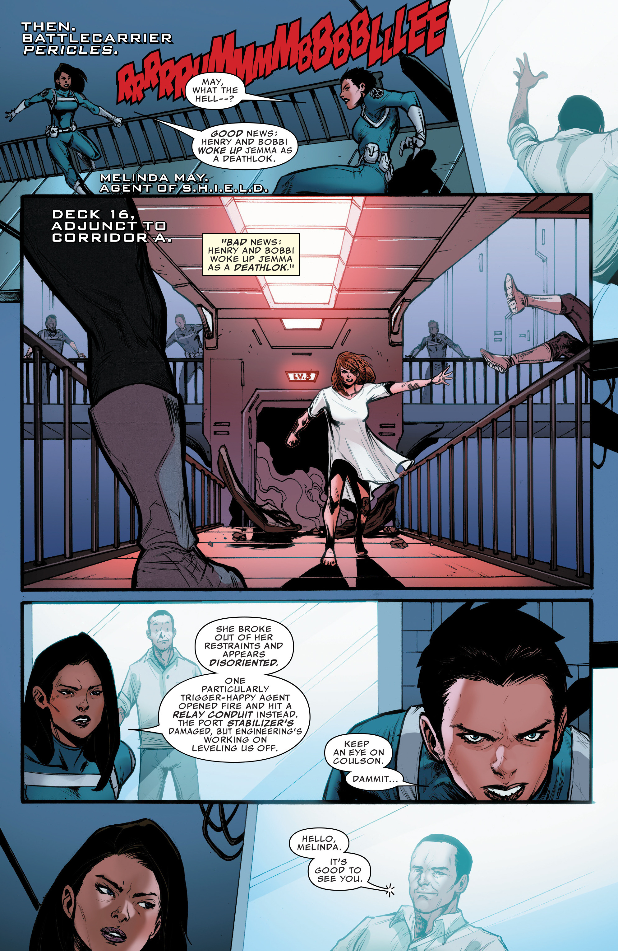 Read online Agents of S.H.I.E.L.D. comic -  Issue #10 - 10