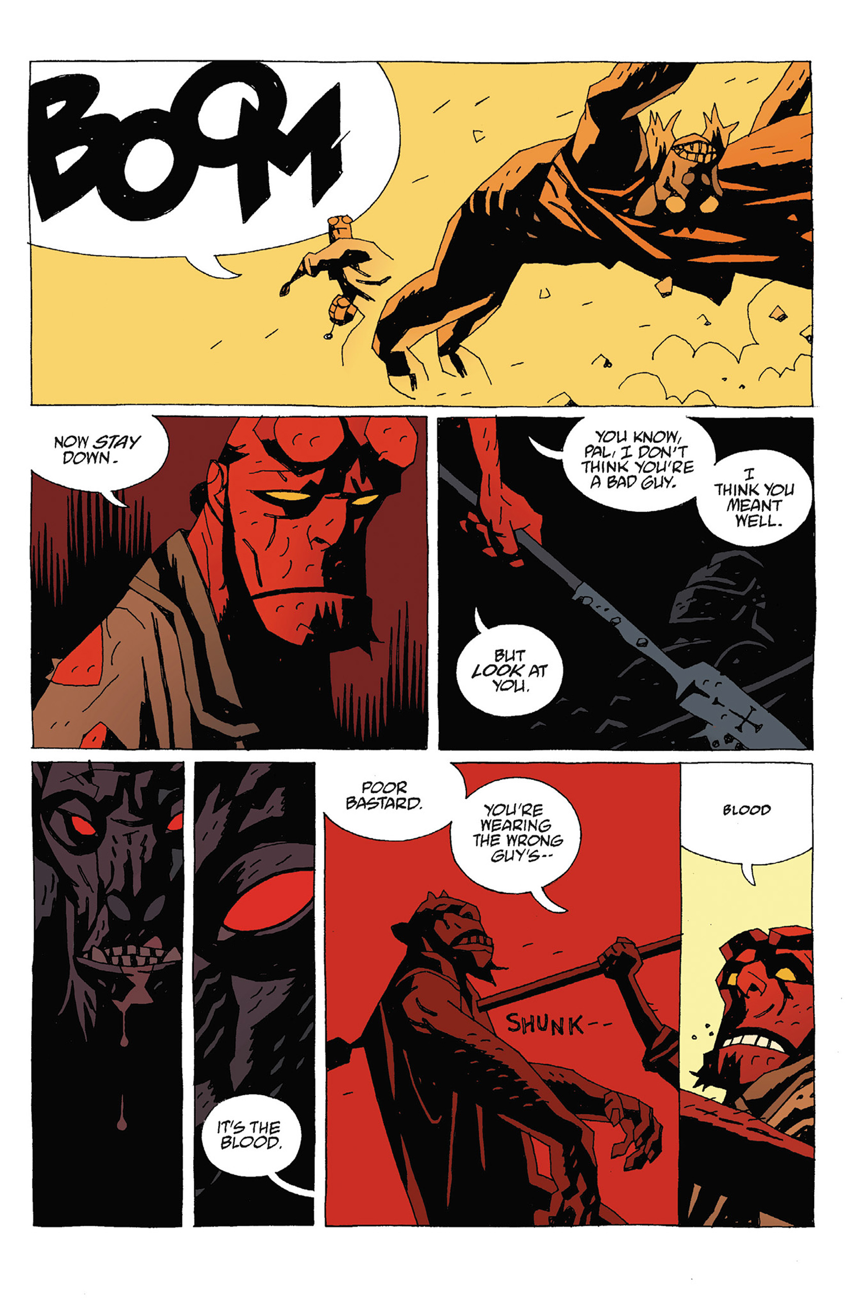 Read online Hellboy: Strange Places comic -  Issue # TPB - 117