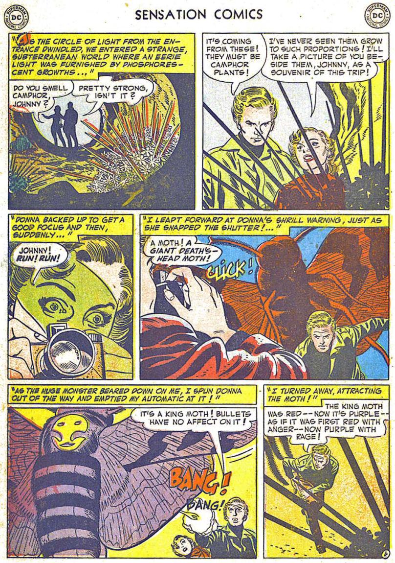 Read online Sensation (Mystery) Comics comic -  Issue #108 - 16