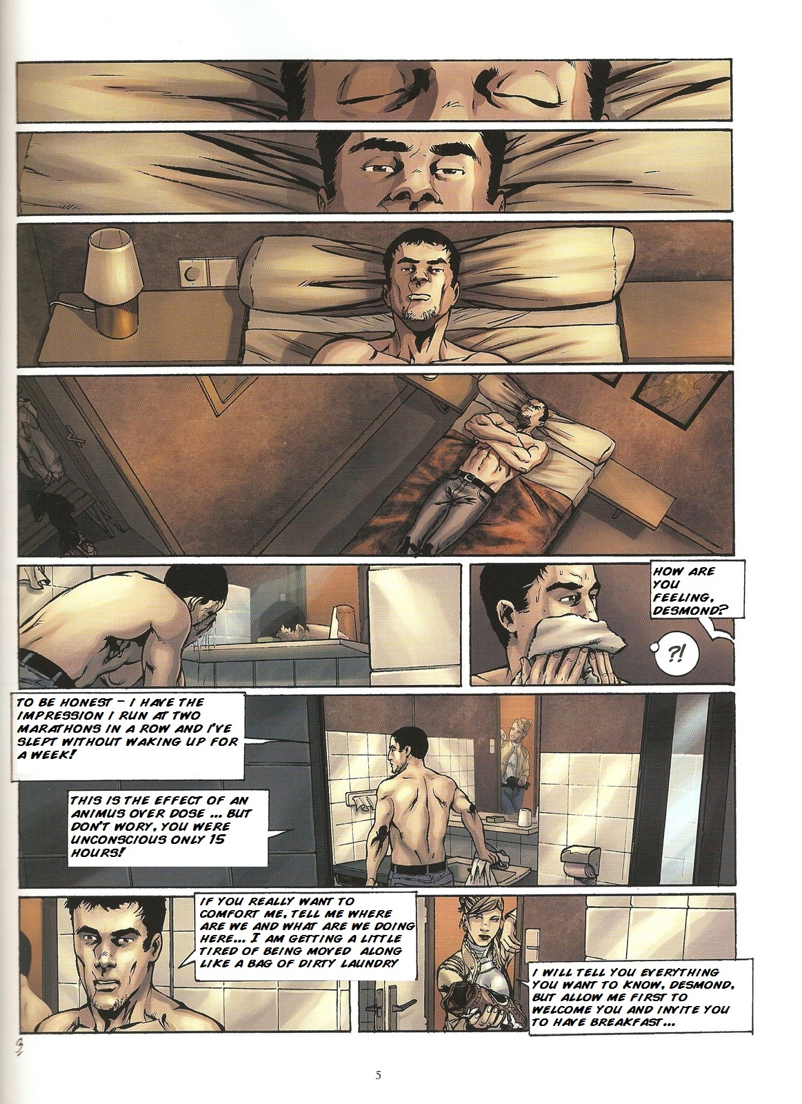 Read online Assassin's Creed (2009) comic -  Issue #2 - 5
