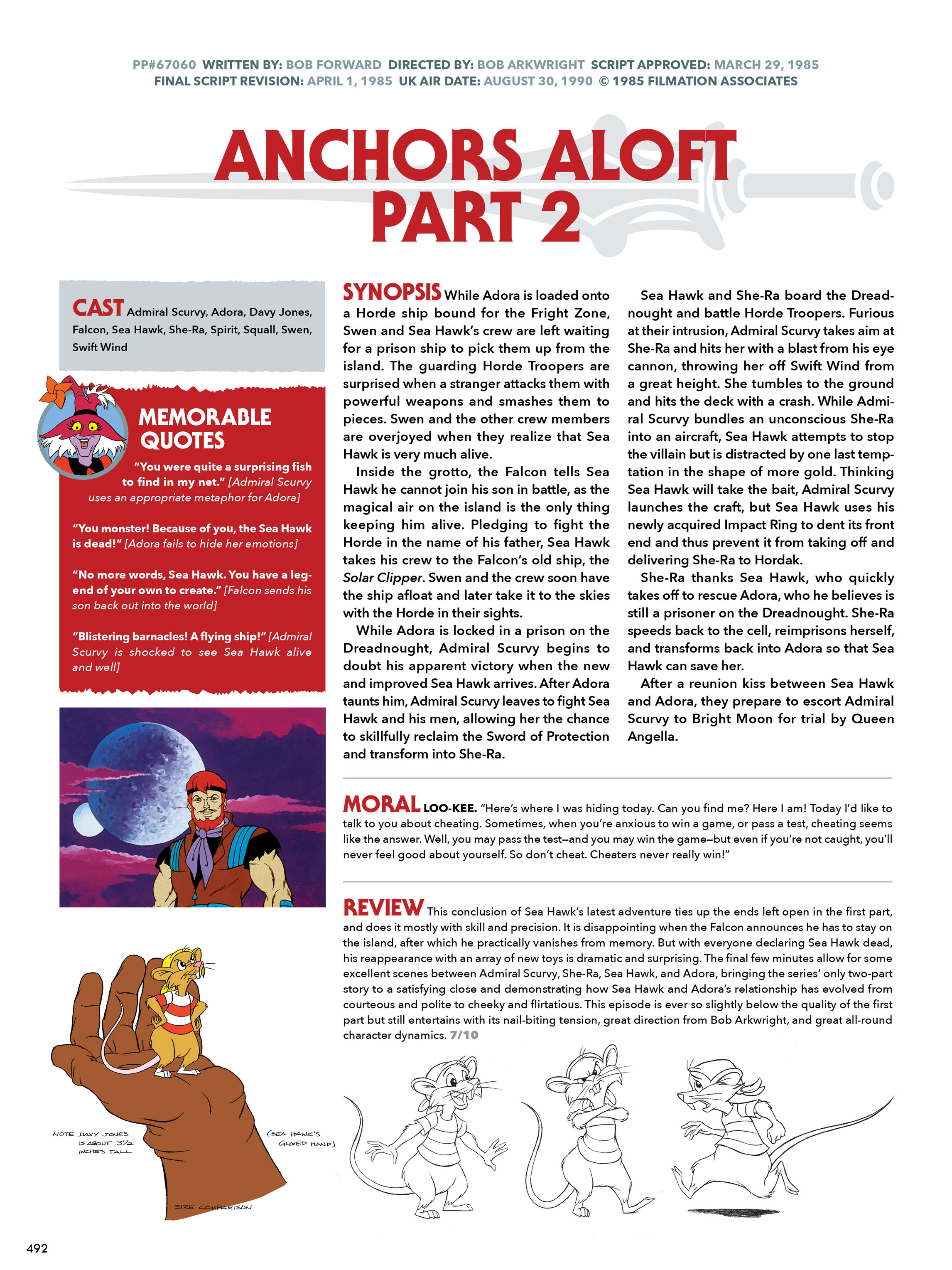 Read online He-Man and She-Ra: A Complete Guide to the Classic Animated Adventures comic -  Issue # TPB (Part 3) - 92