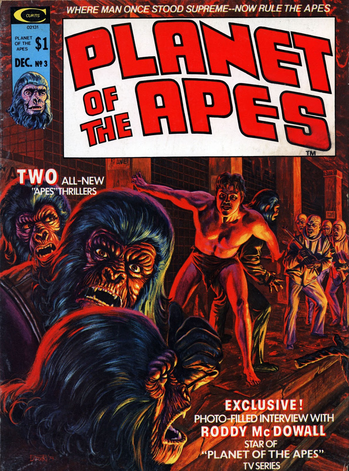 Planet of the Apes (1974) 3 Page 1