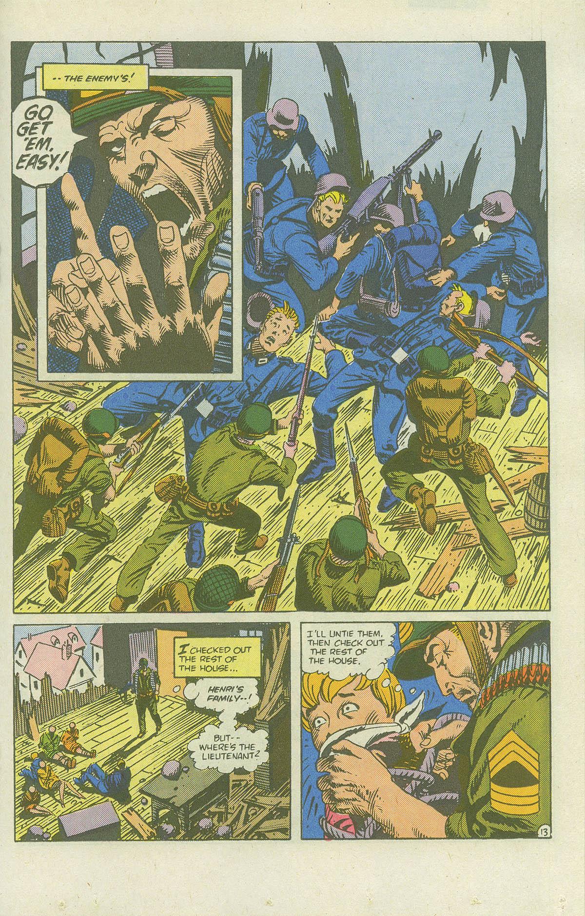 Read online Sgt. Rock comic -  Issue #415 - 18