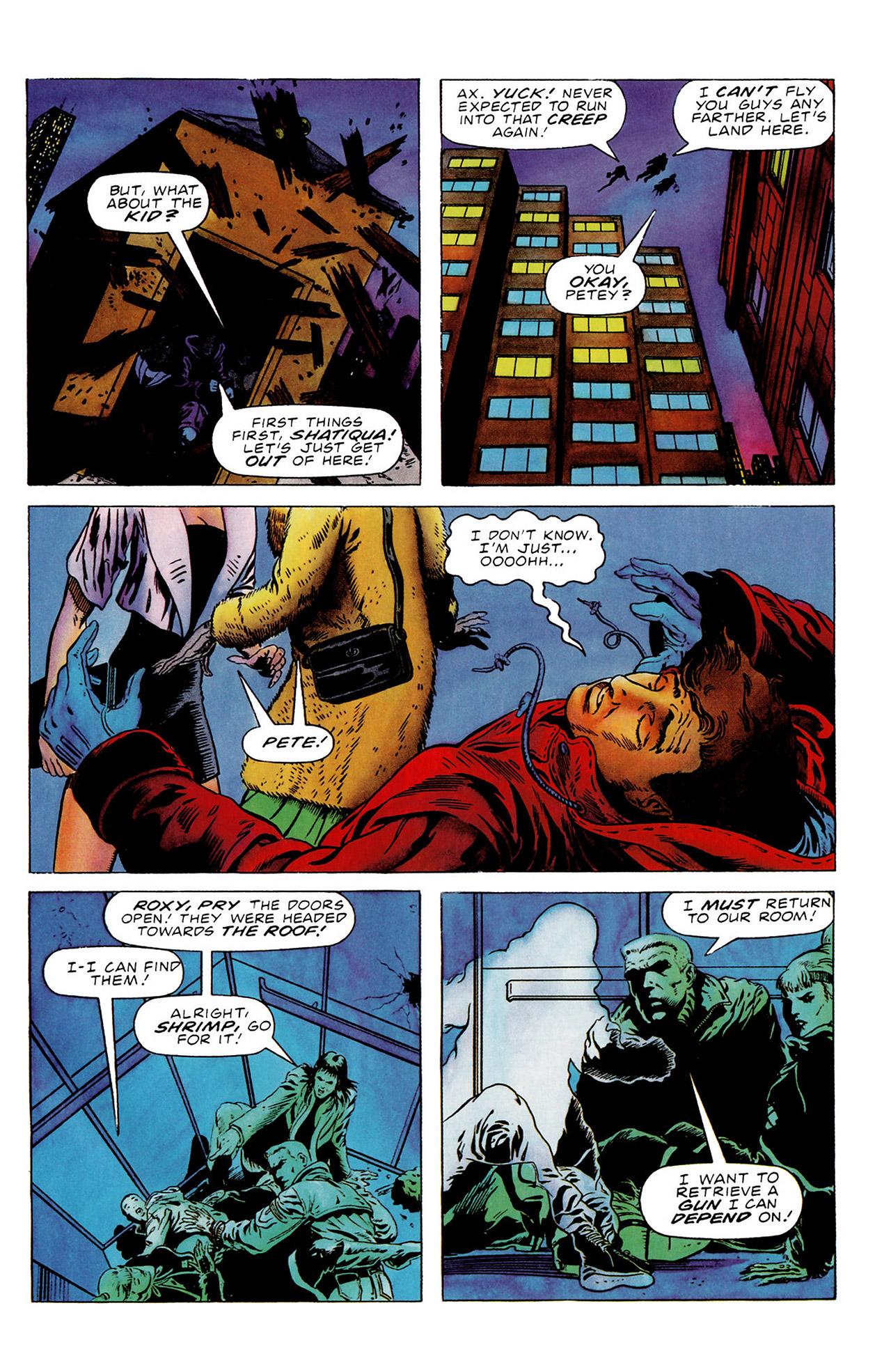 Read online Harbinger (1992) comic -  Issue #16 - 6