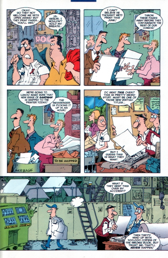 Read online Sergio Aragones Destroys DC comic -  Issue # Full - 41