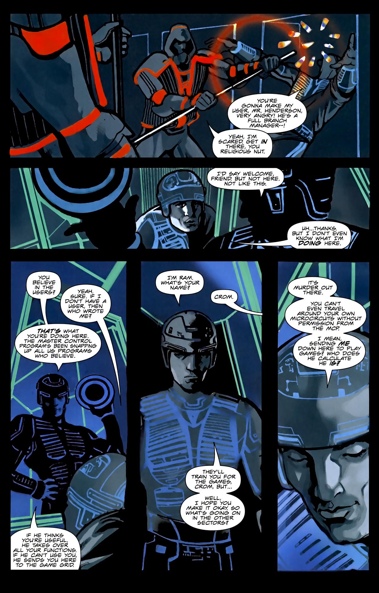 Read online TRON: Original Movie Adaptation comic -  Issue #1 - 9