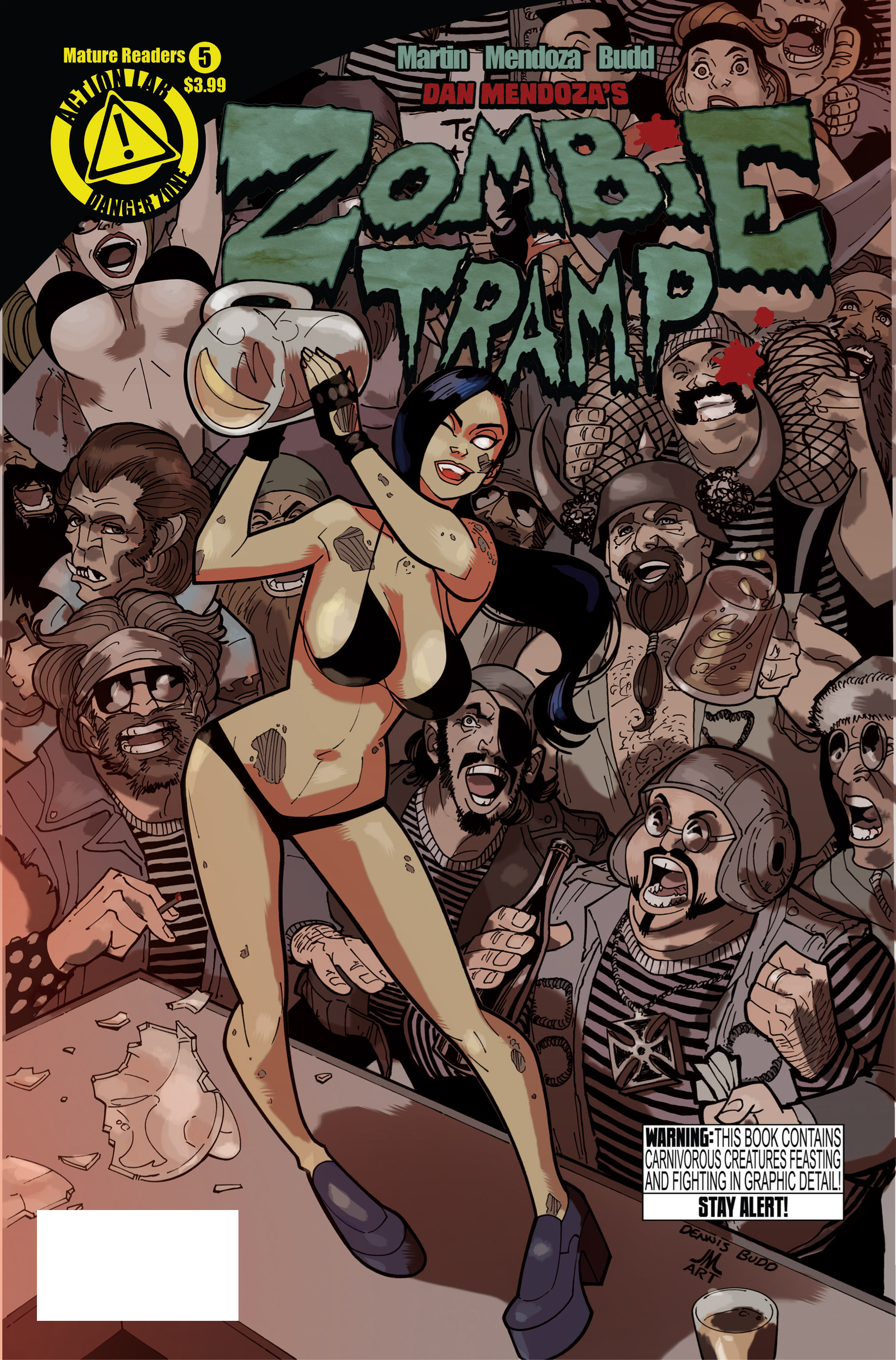Zombie Tramp (2014) 5 Page 1