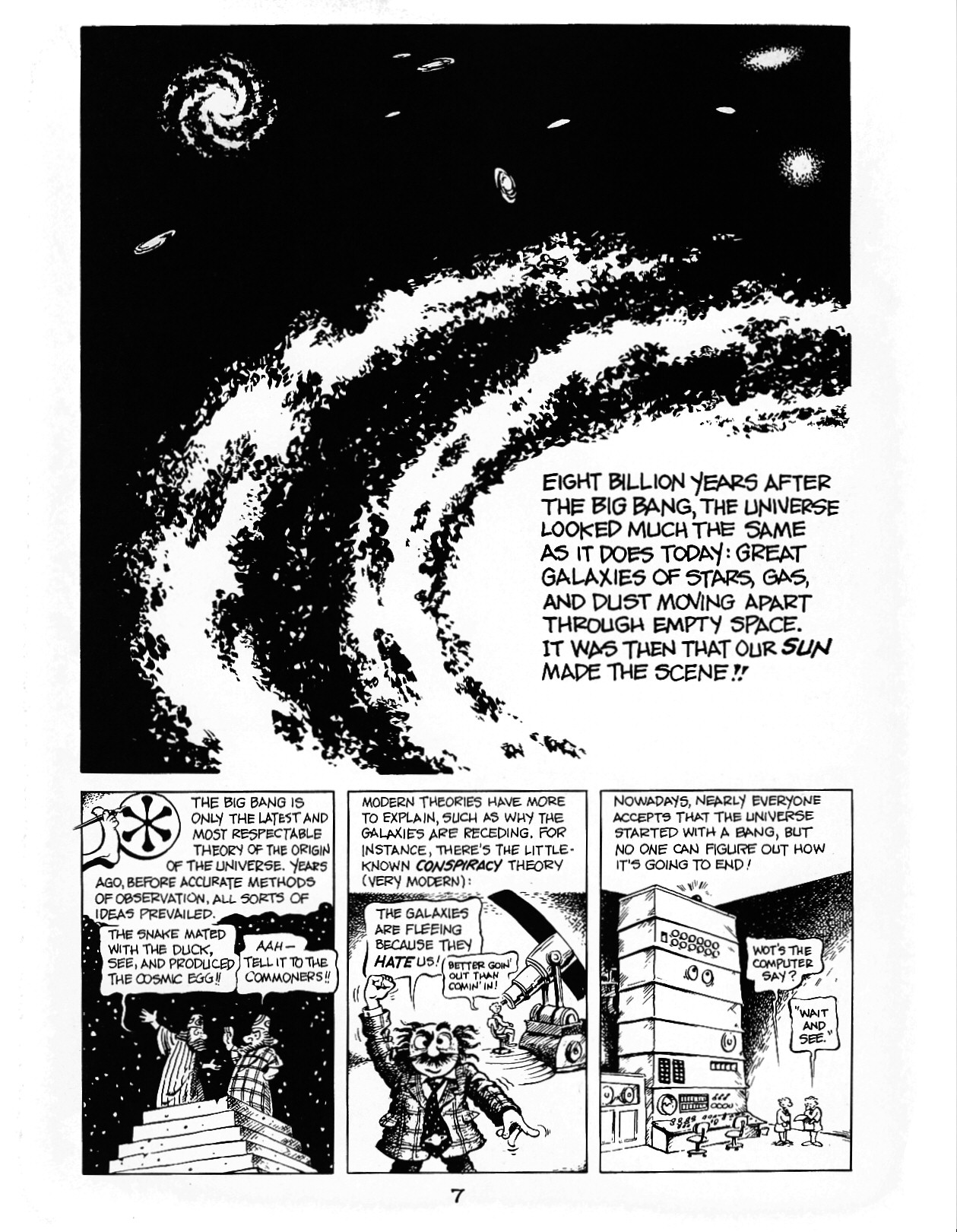 Read online The Cartoon History of the Universe comic -  Issue #1 - 12