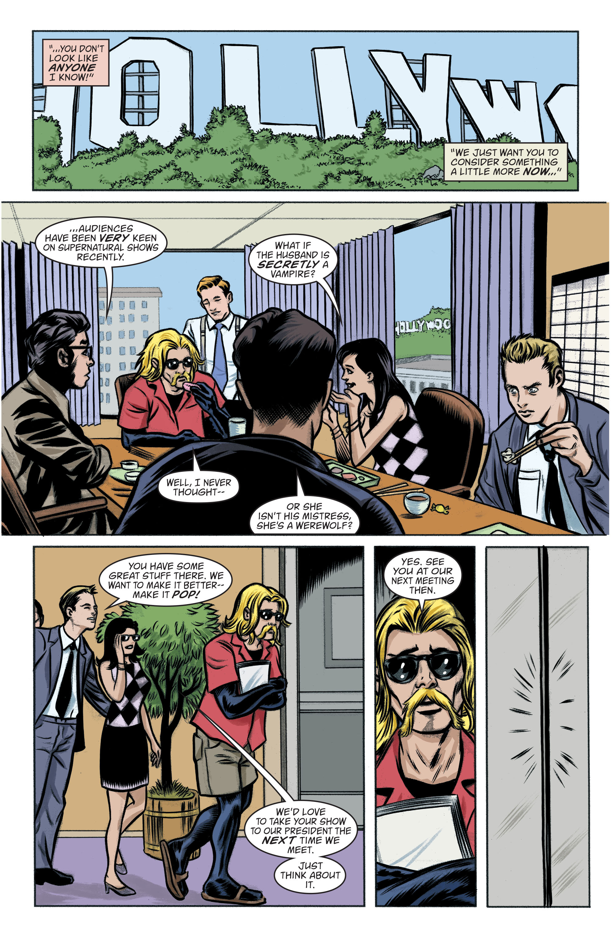 Read online Art Ops comic -  Issue #8 - 8